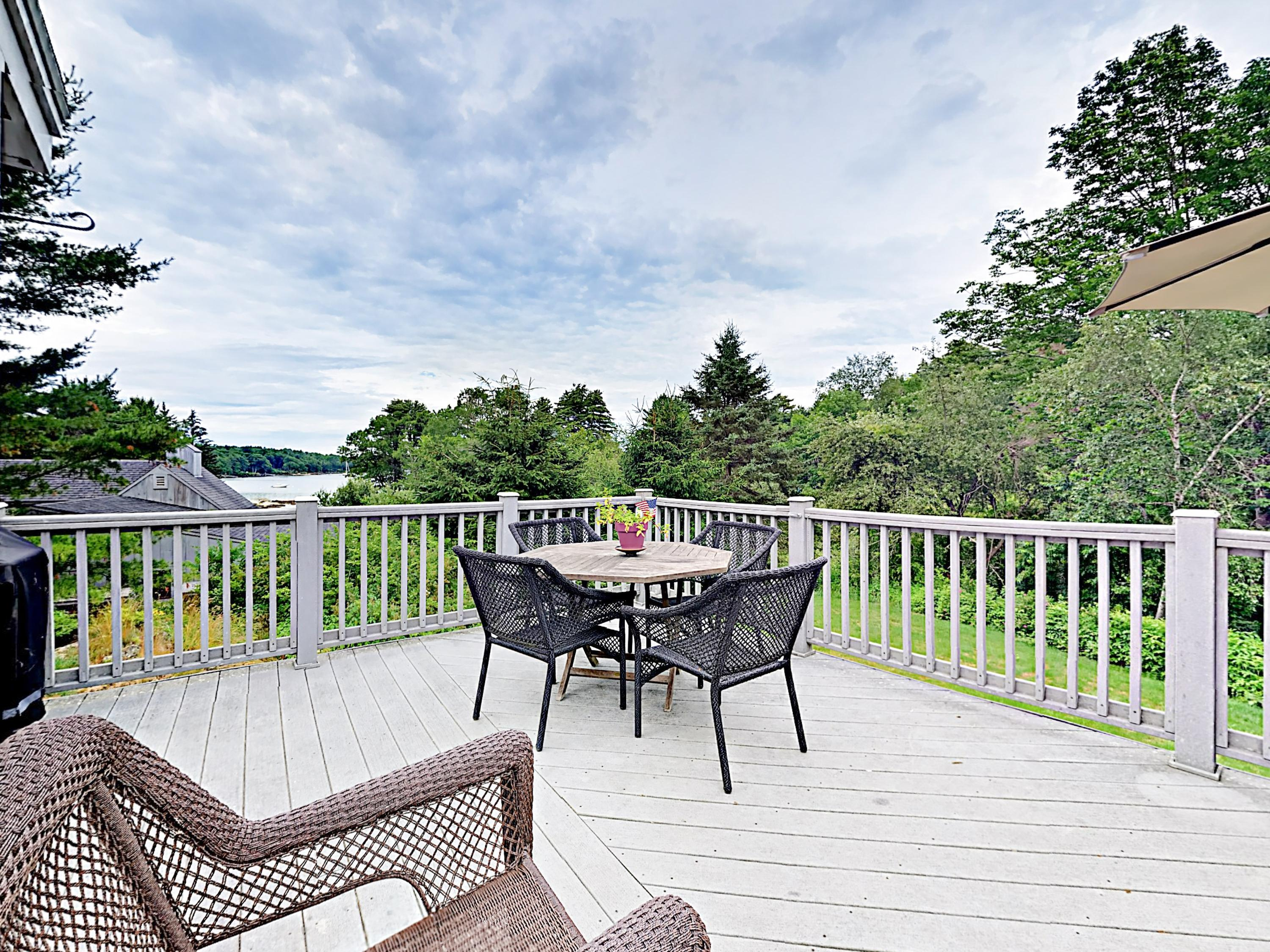 Welcome to Maine! This home is professionally managed by TurnKey Vacation Rentals.