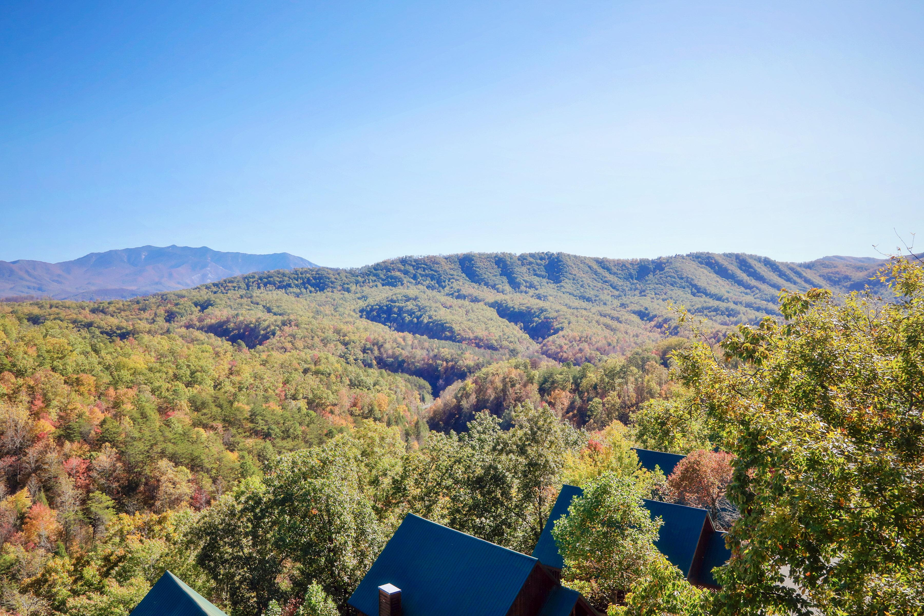With the Great Smoky Mountains National Park within a 8 mile drive of your door, there's much for the outdoor-minded folks in your group to explore.
