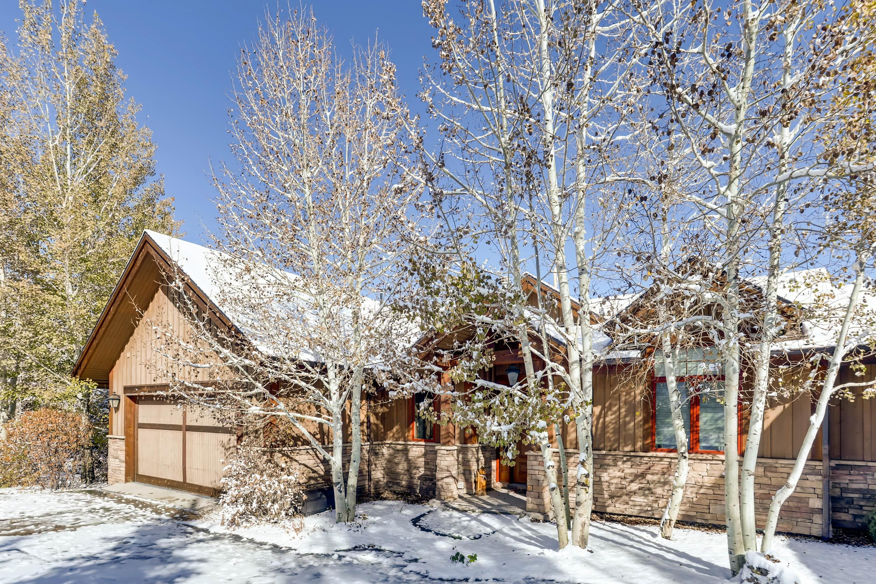This exceptional family-friendly home is near Vail and Beaver Creek.
