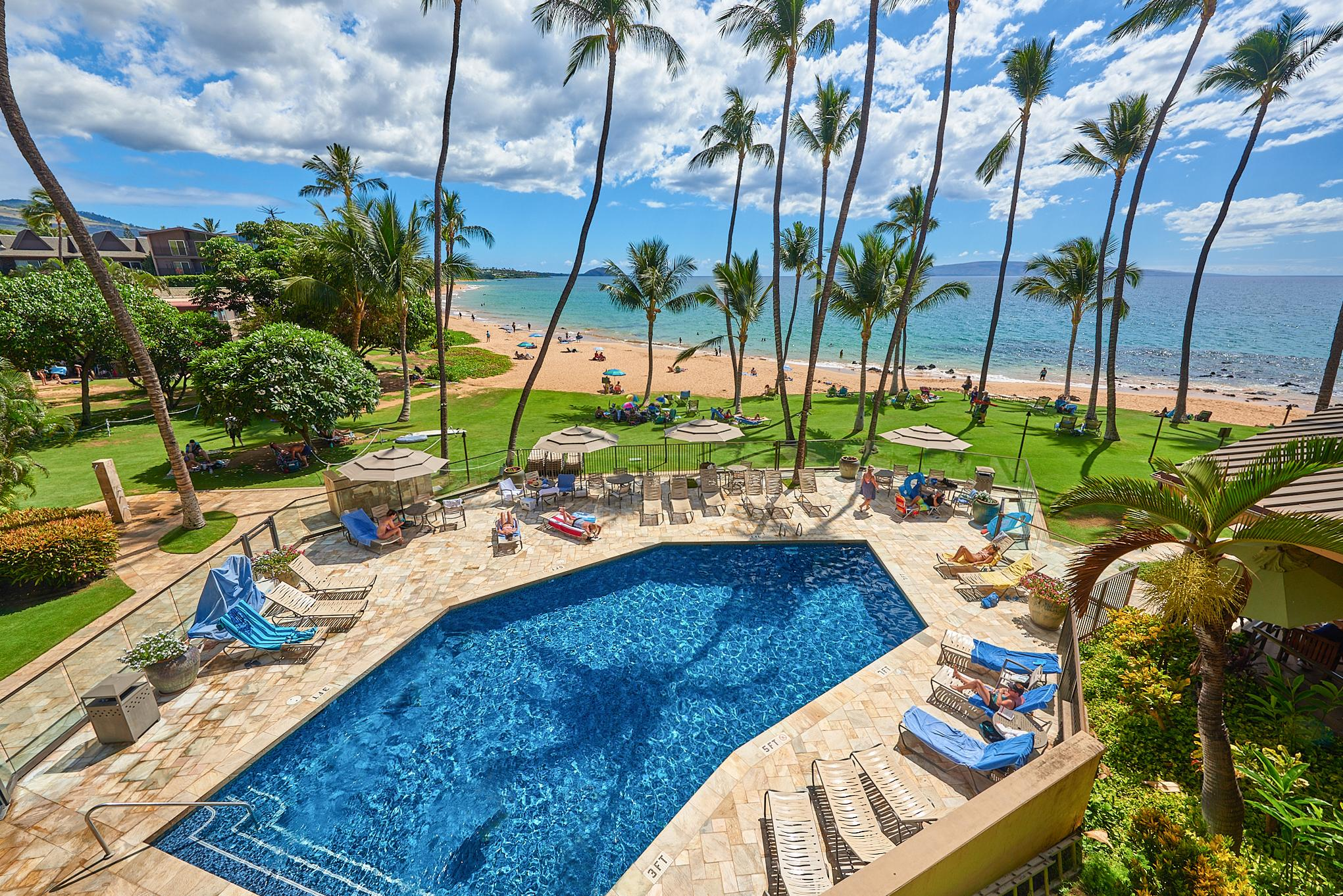 Welcome to Kihei! Your rental is professionally managed by TurnKey Vacation Rentals.