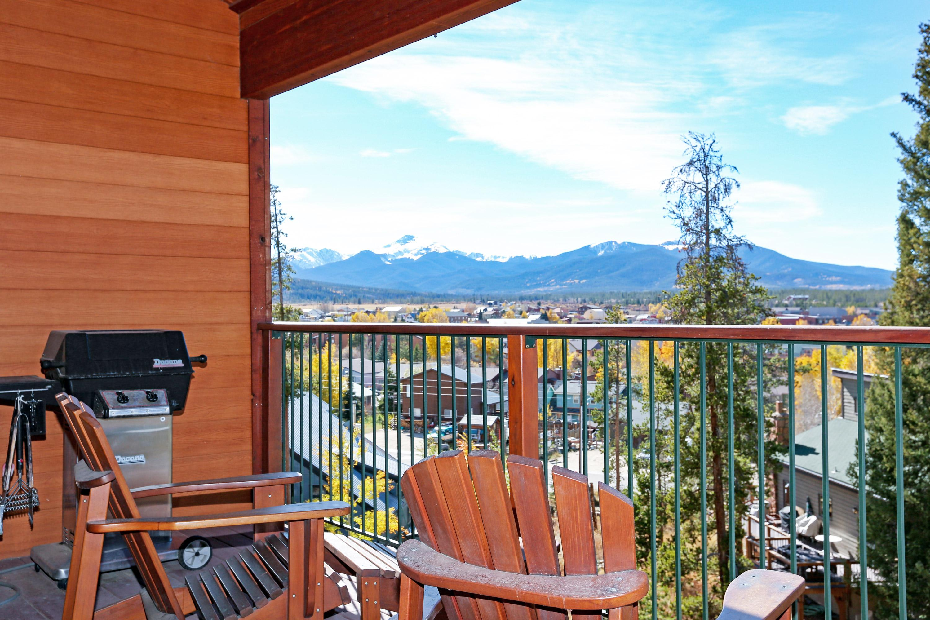Welcome to your Winter Park rental! Kick back and enjoy the mountain views from one of 2 private balconies.