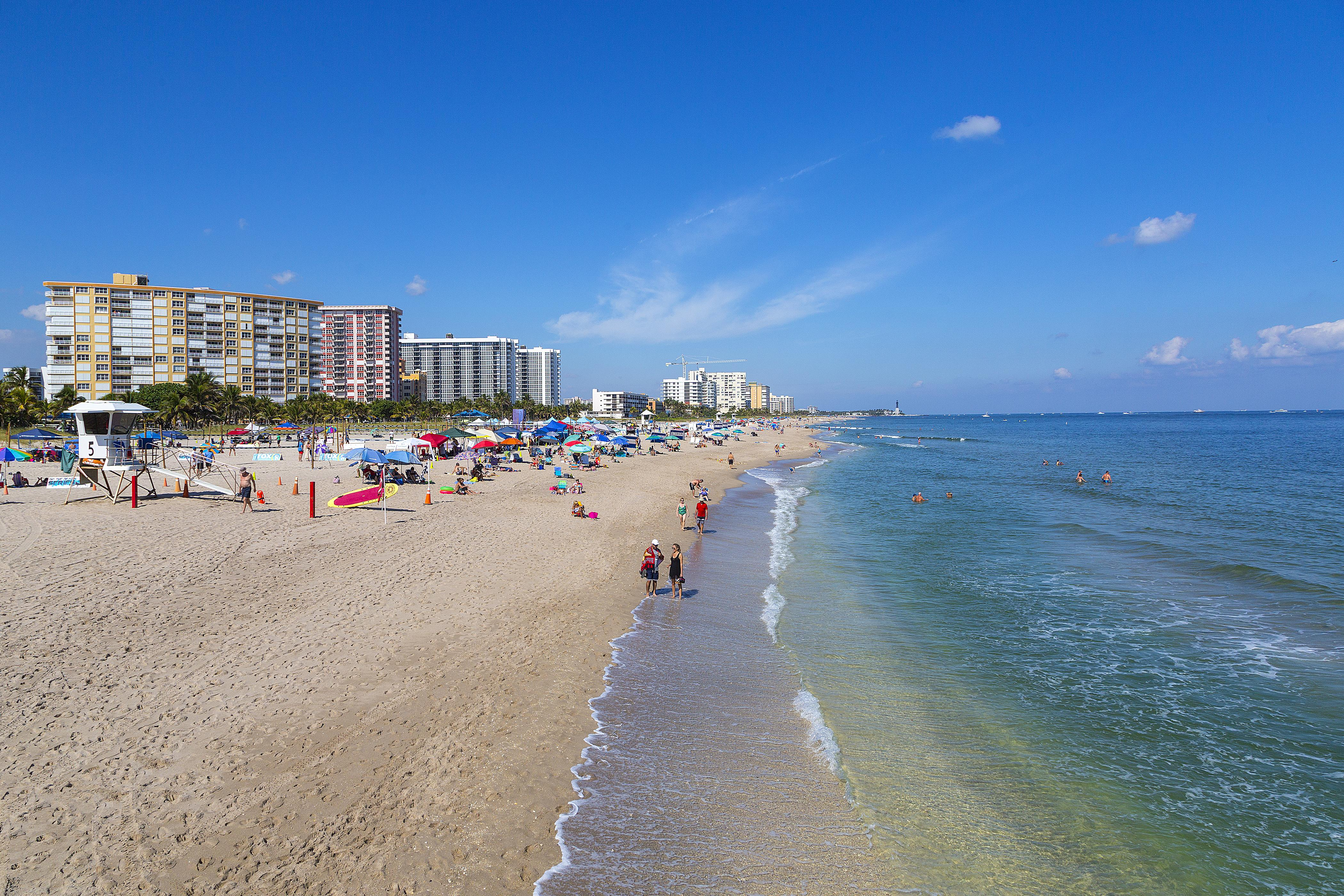 Located directly across the street from the pristine Pompano Beach