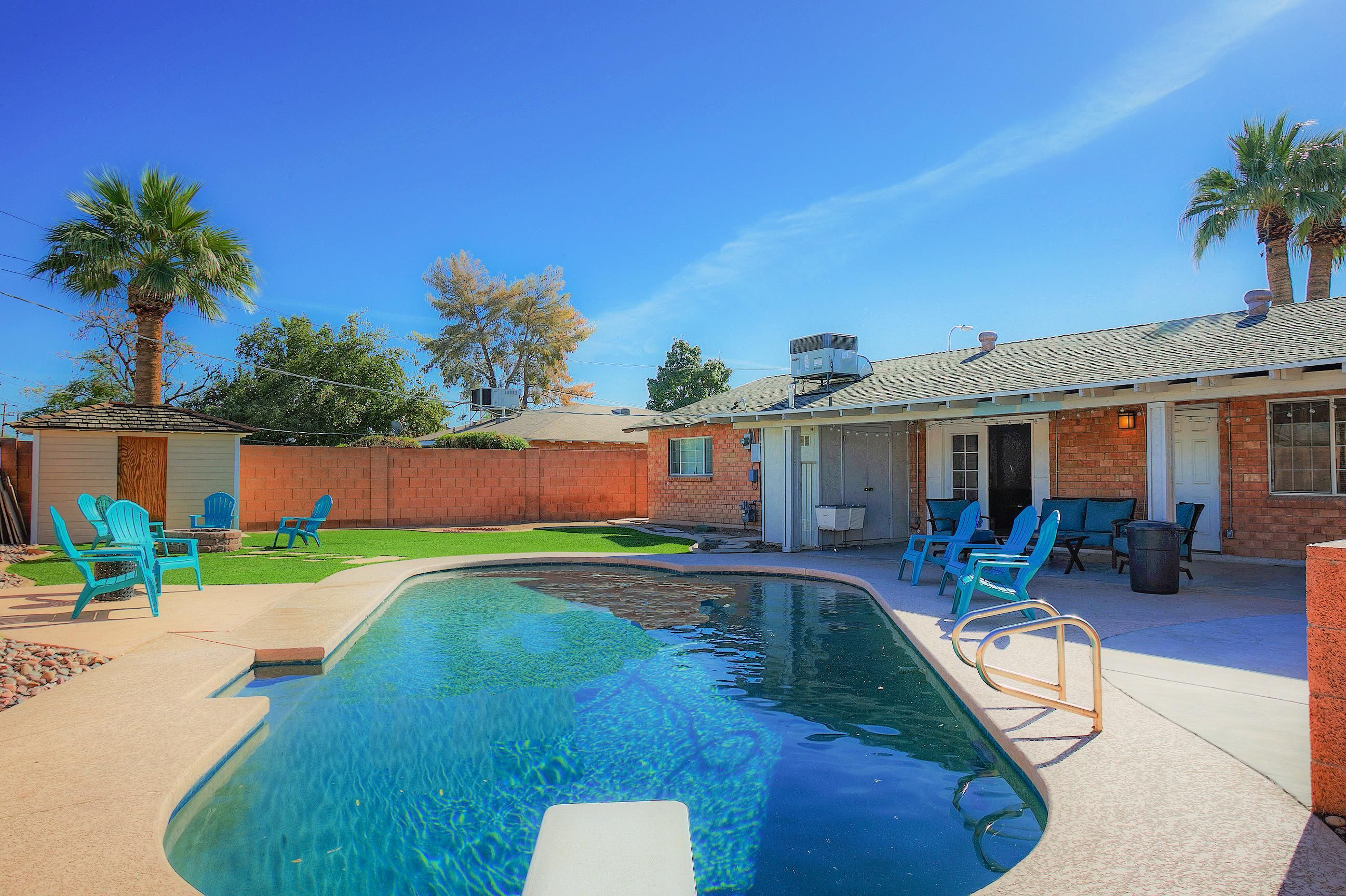 Welcome to Old Town Scottsdale! Take a refreshing dip in the private pool.