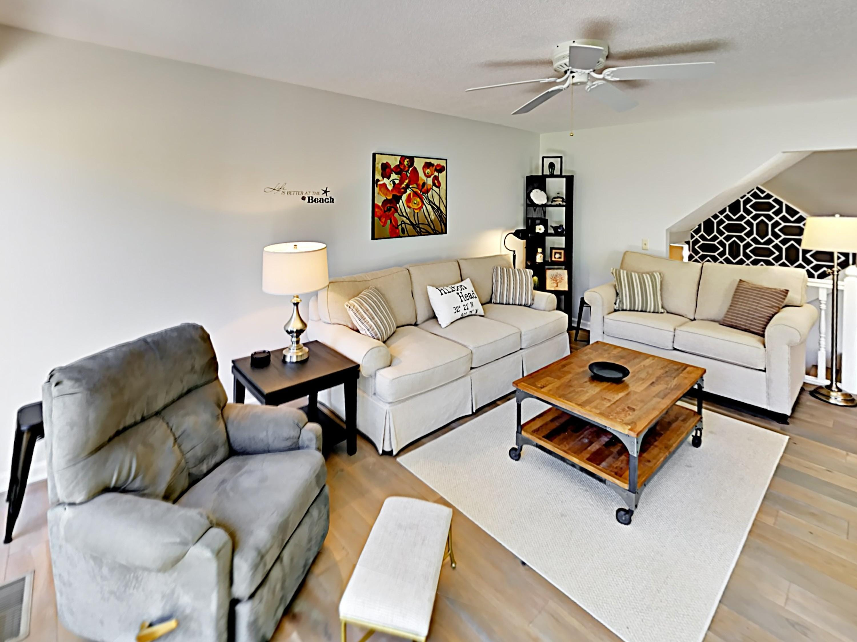 Welcome to Hilton Head Island! This townhome is professionally managed by TurnKey Vacation Rentals.