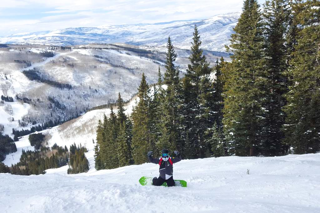 Spend a fun day gliding down the snow-capped trails.