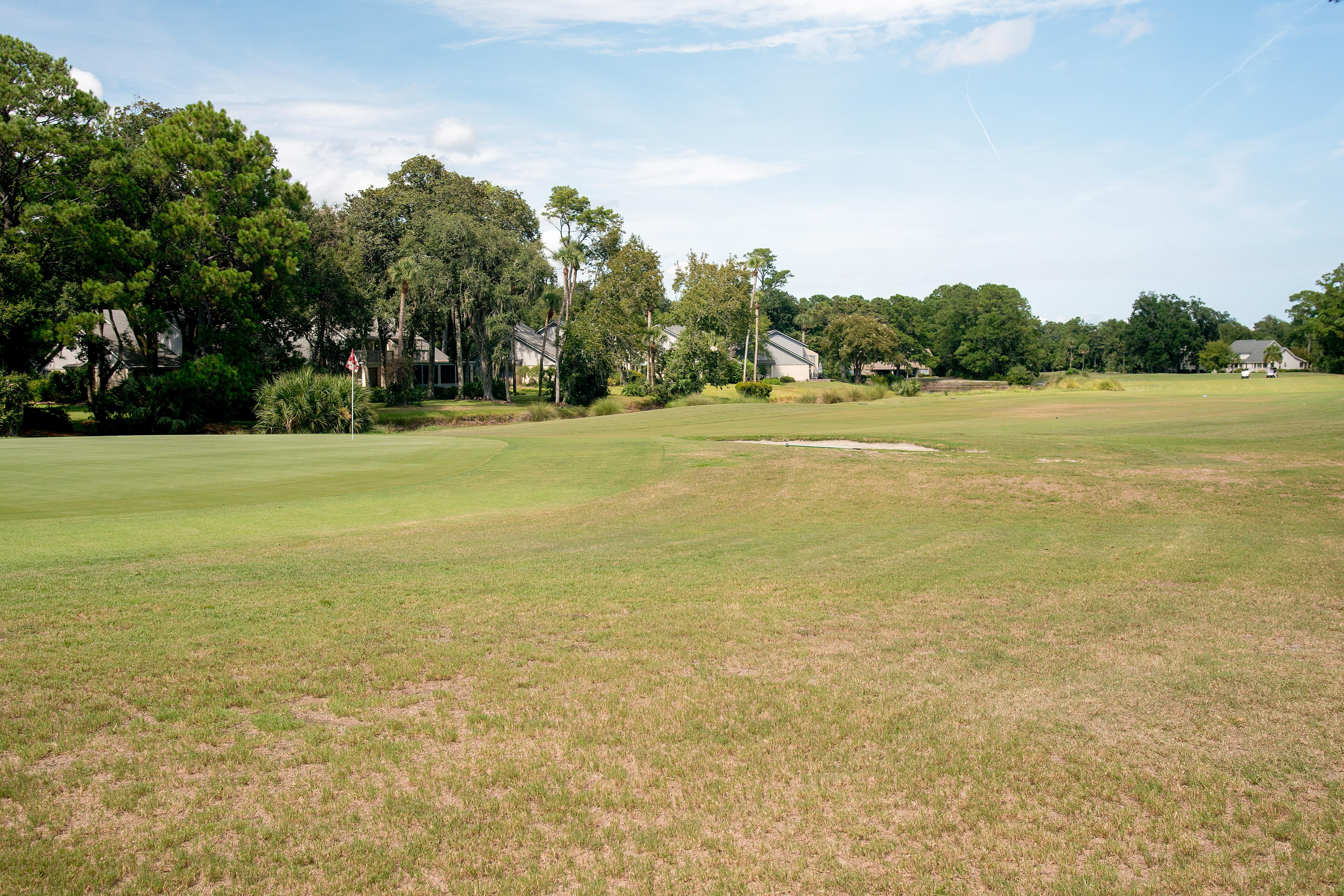 Enjoy tranquil views across the Galleon golf course.