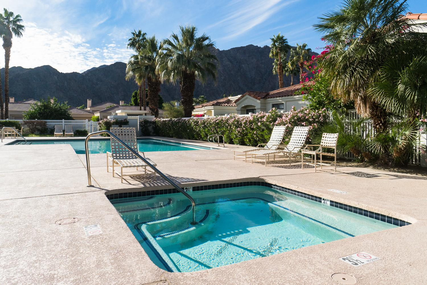 Find ultimate relaxation and enjoy the views of the Santa Rosa Mountains.