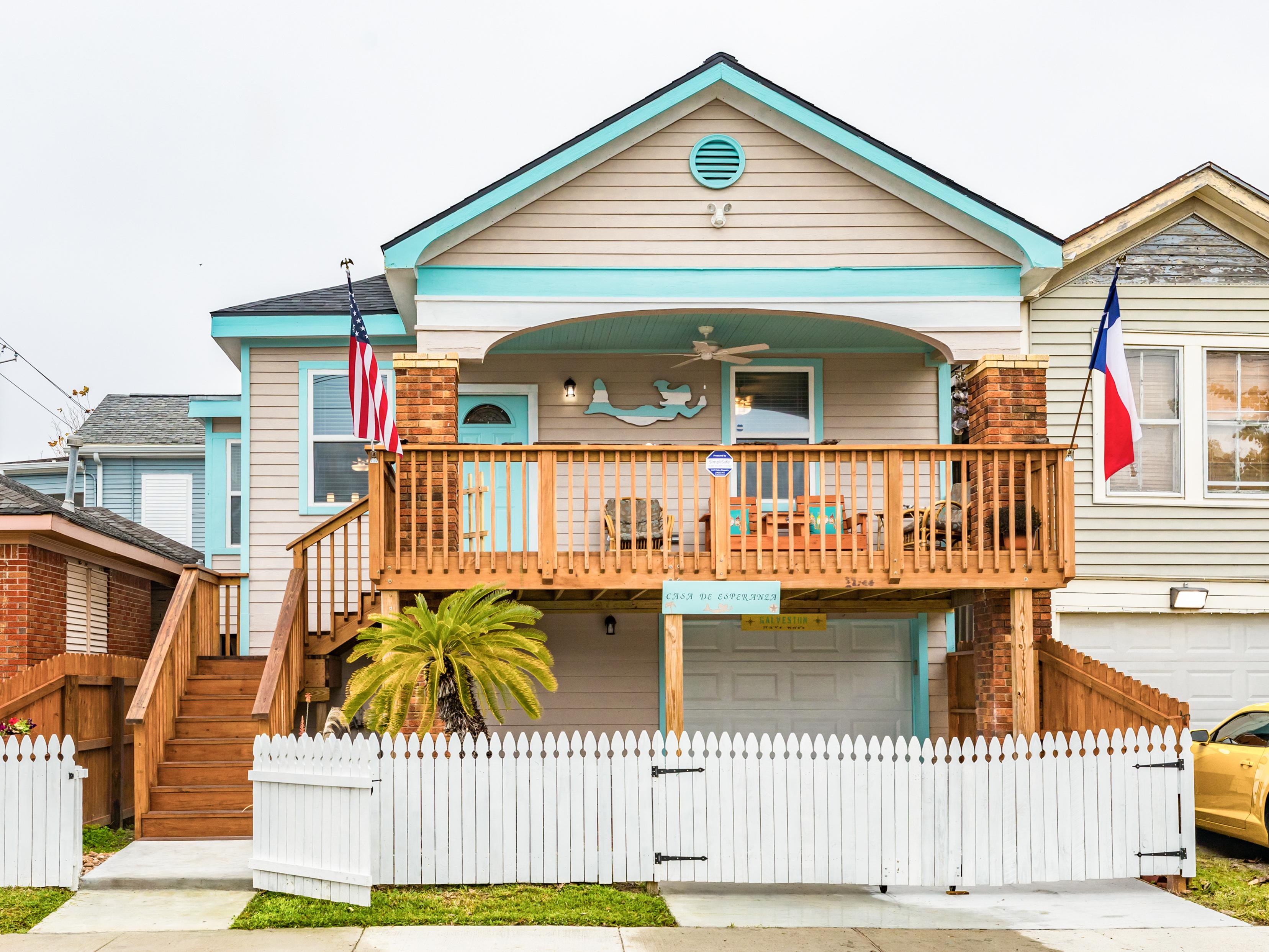 Welcome to Galveston! This inviting home is professionally managed by TurnKey Vacation Rentals.