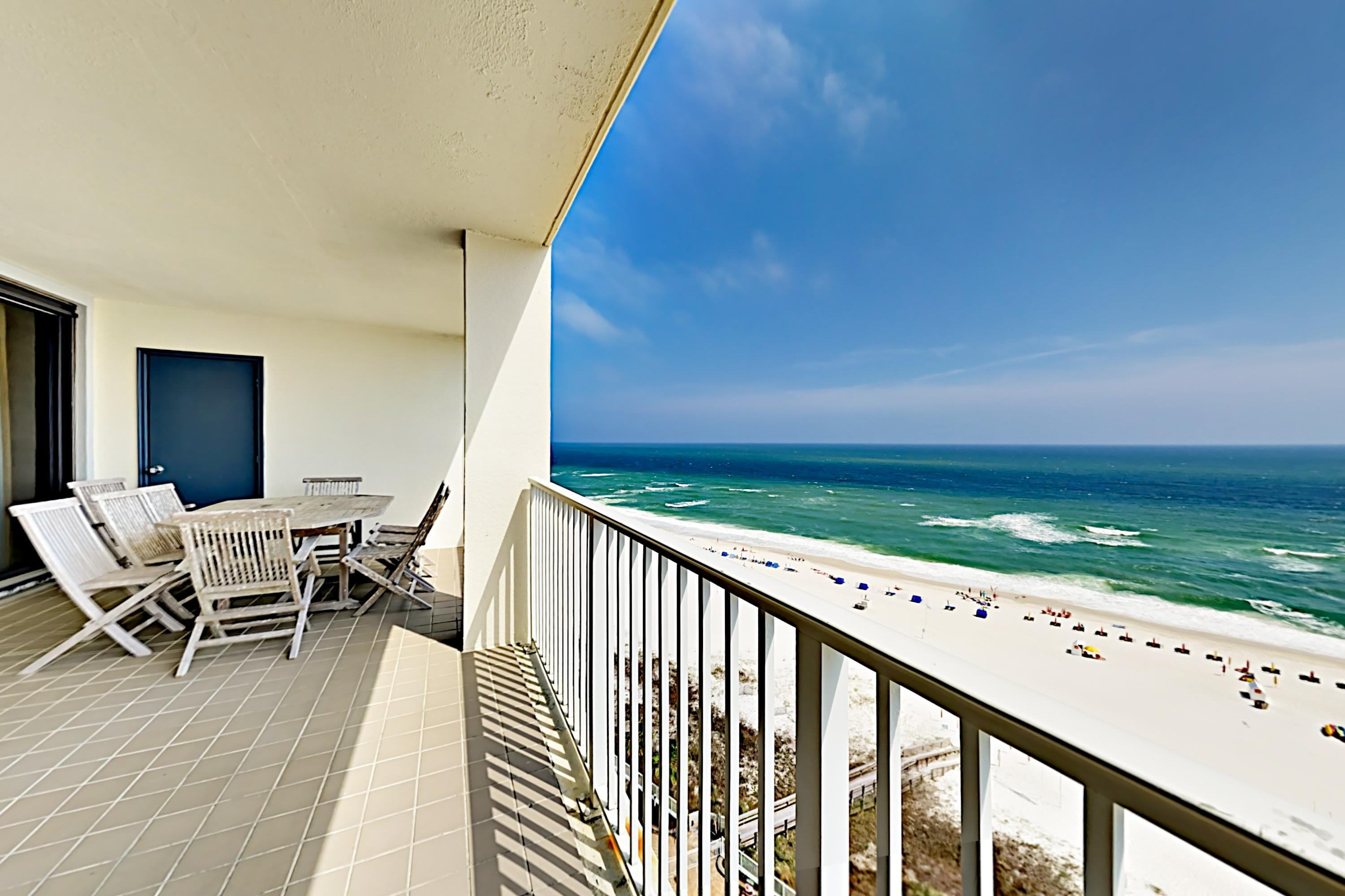 Property Image 1 - Beachfront Corner Condo, with Wraparound Balcony & Pool Access