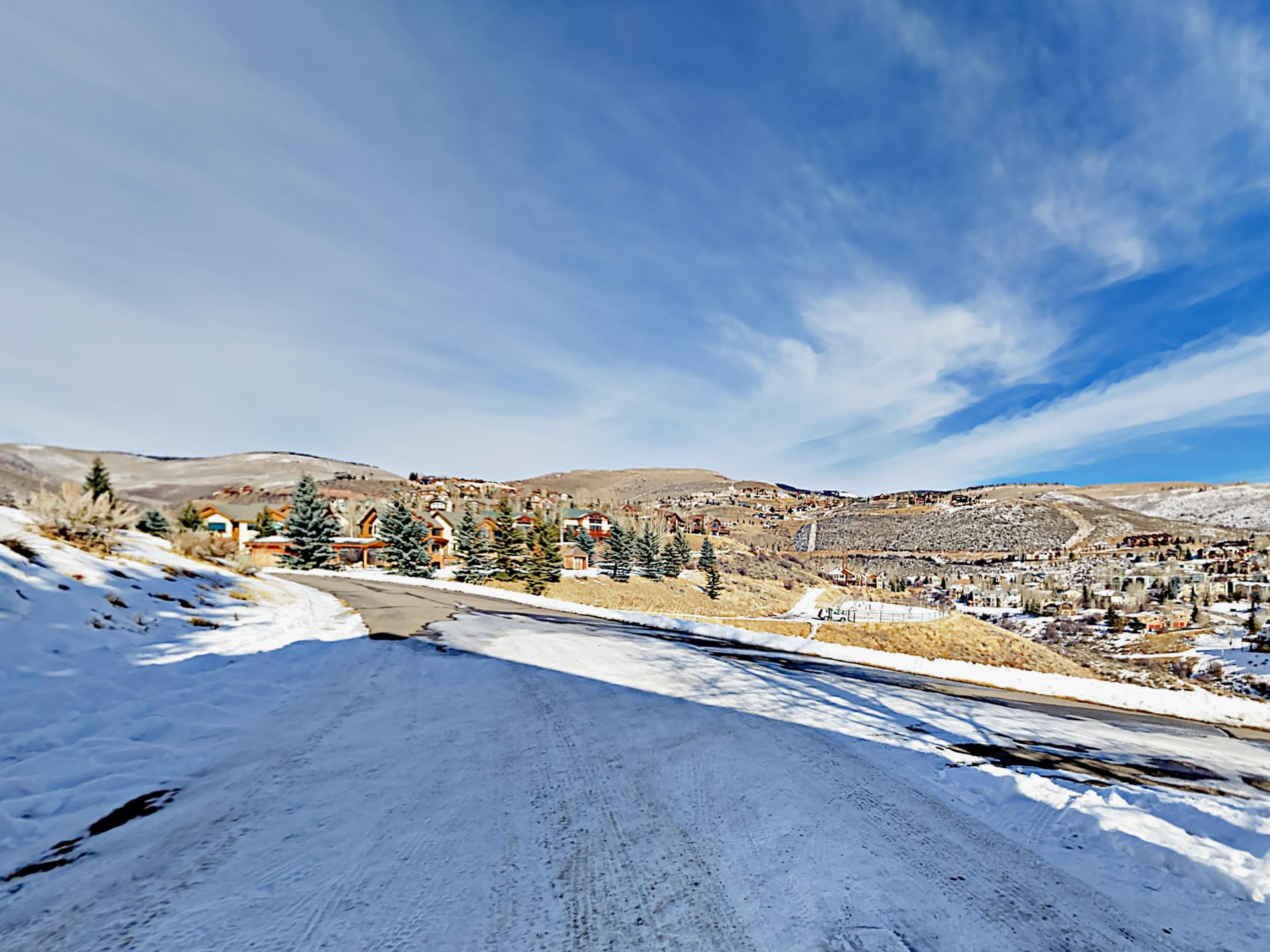 Your rental features fantastic views over the slopes of Beaver Creek Resort.