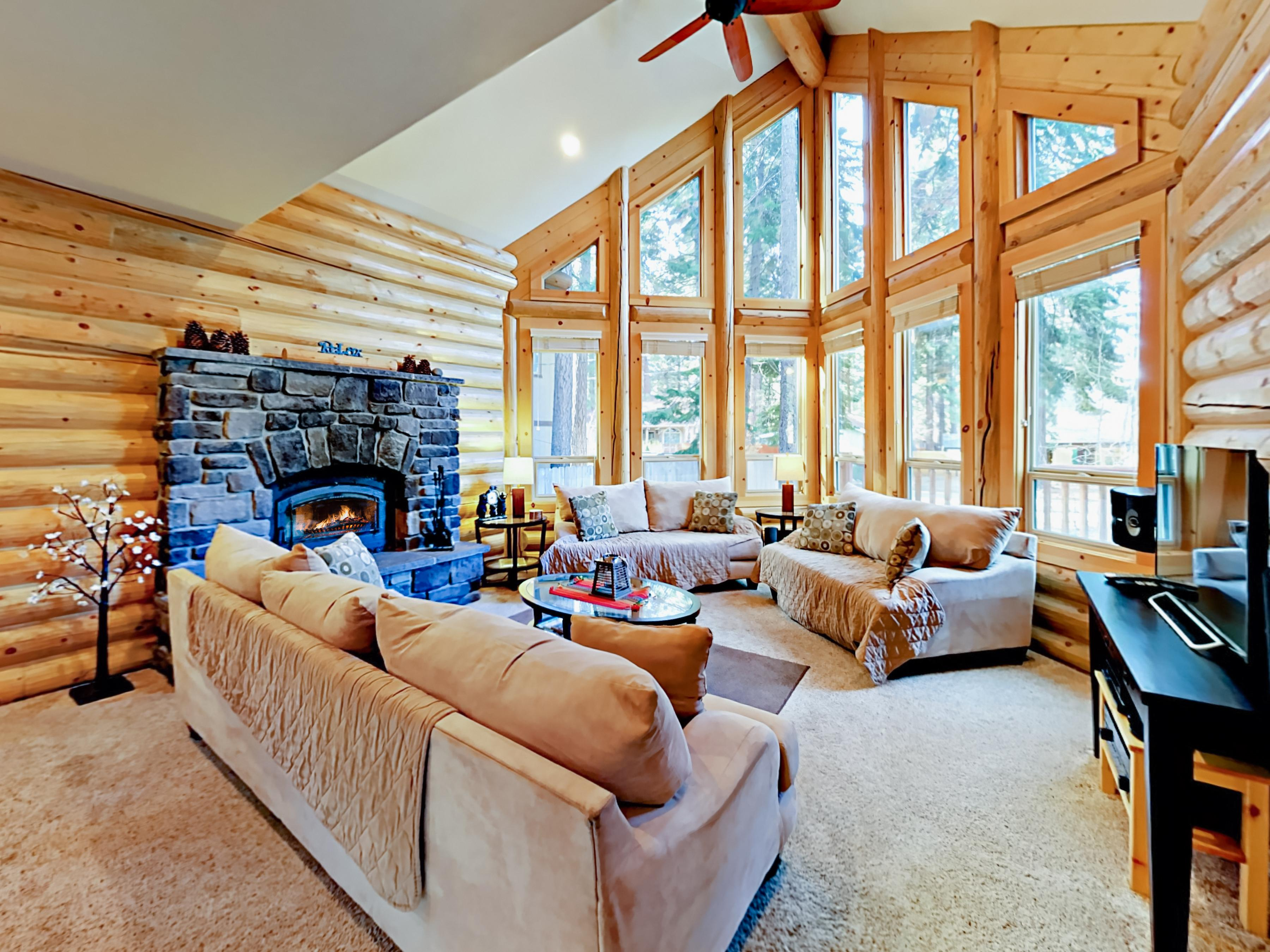 Welcome to South Lake Tahoe! This beautiful log home is professionally managed by TurnKey Vacation Rentals.