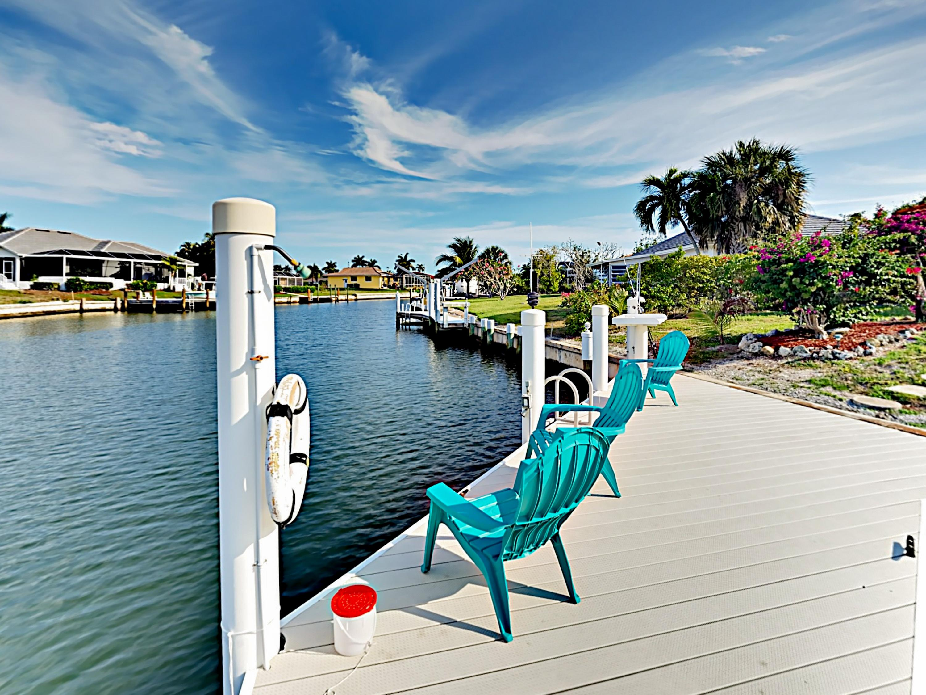 Welcome to Marco Island! Your waterfront rental is professionally managed by TurnKey Vacation Rentals.