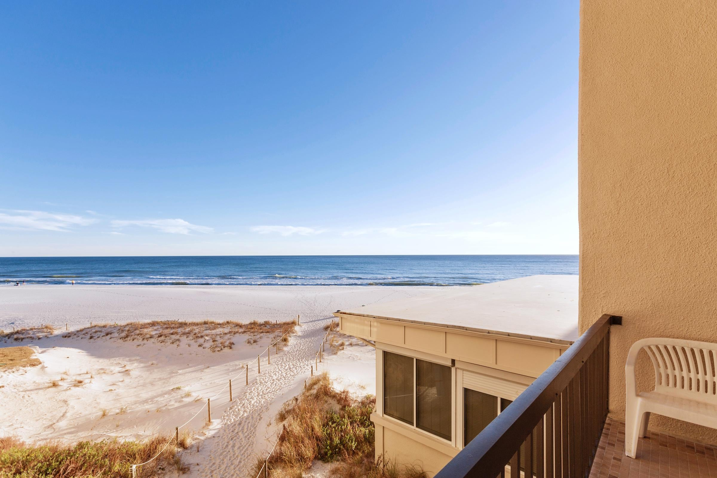 Enjoy stunning beach views from your balcony. This property is maintained and managed by TurnKey Vacation Rentals.