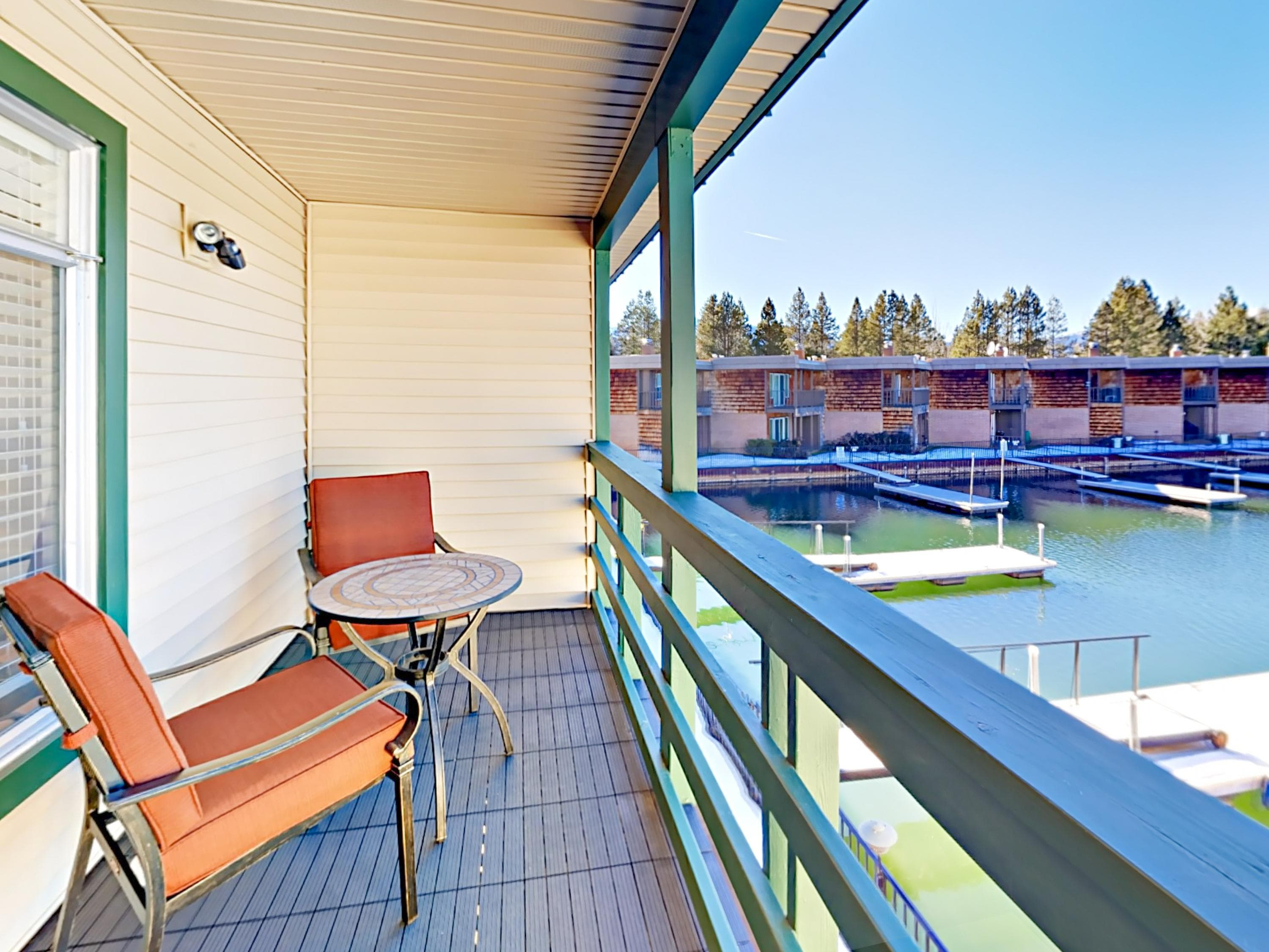 Property Image 1 - Elevated Tahoe Keys Condo with Waterfront Balcony