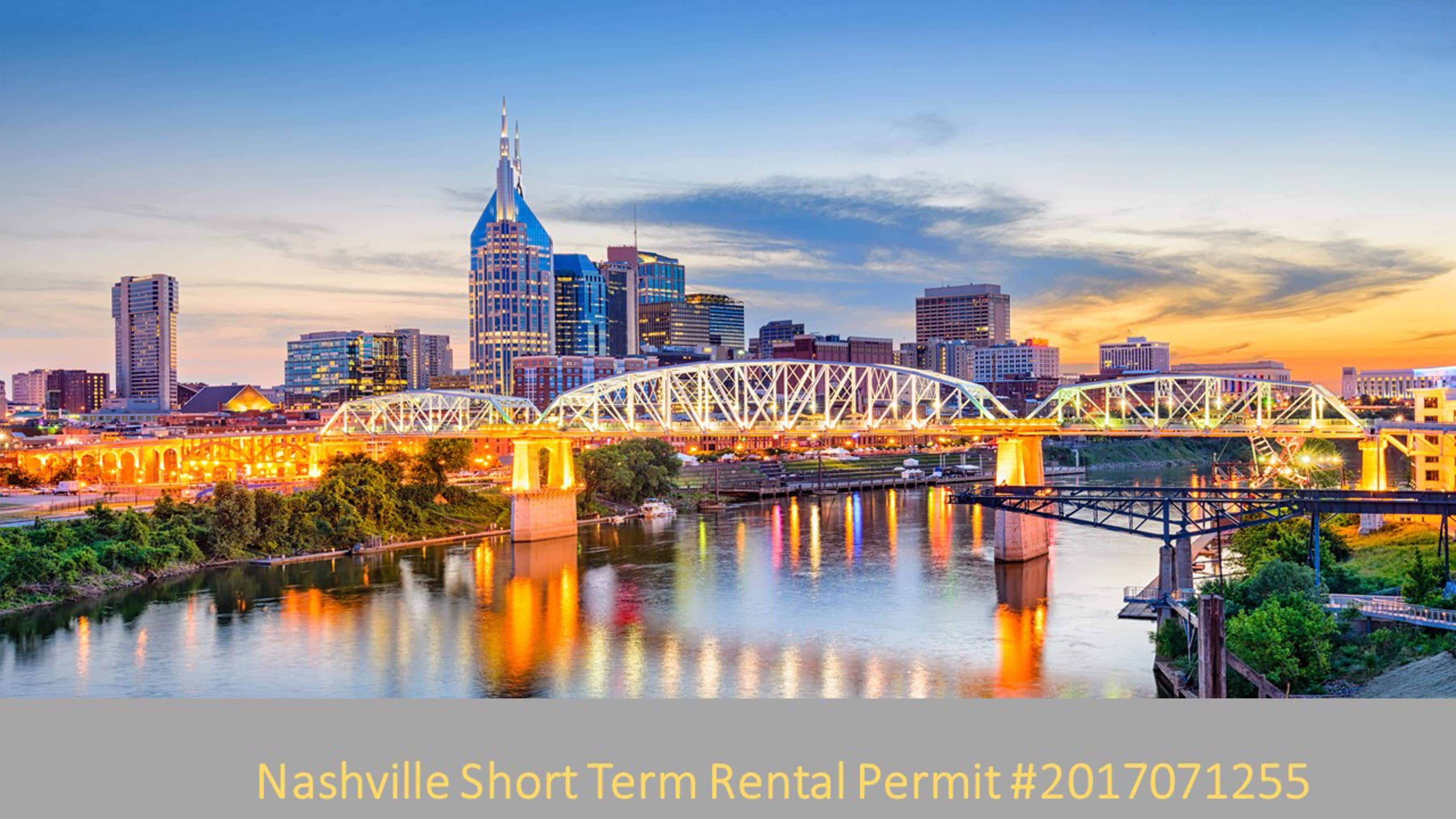 Just 3 miles from downtown Nashville for music, dining, and shopping.