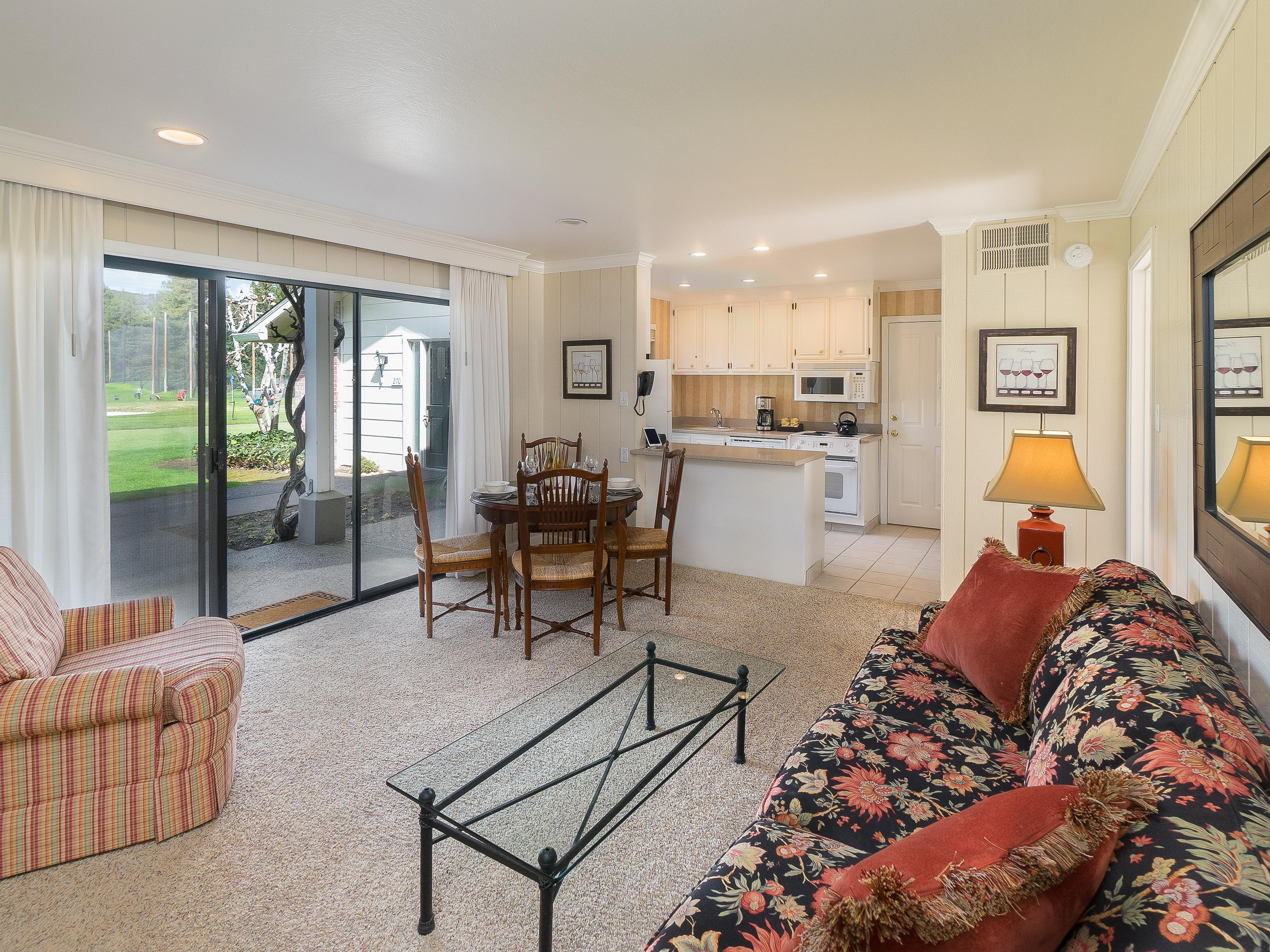 This Silverado condo is professionally managed by TurnKey Vacation Rentals.