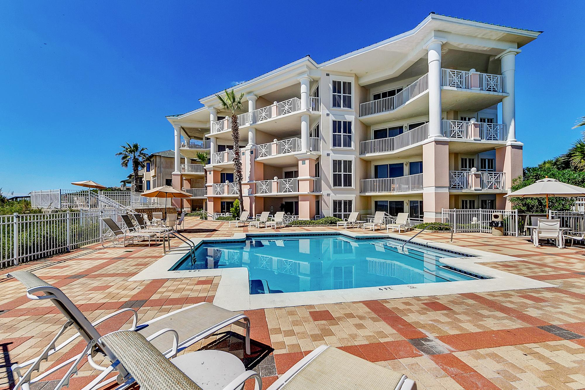 This condo is professionally managed by TurnKey Vacation Rentals and features dozens of amenities including a beachfront pool.