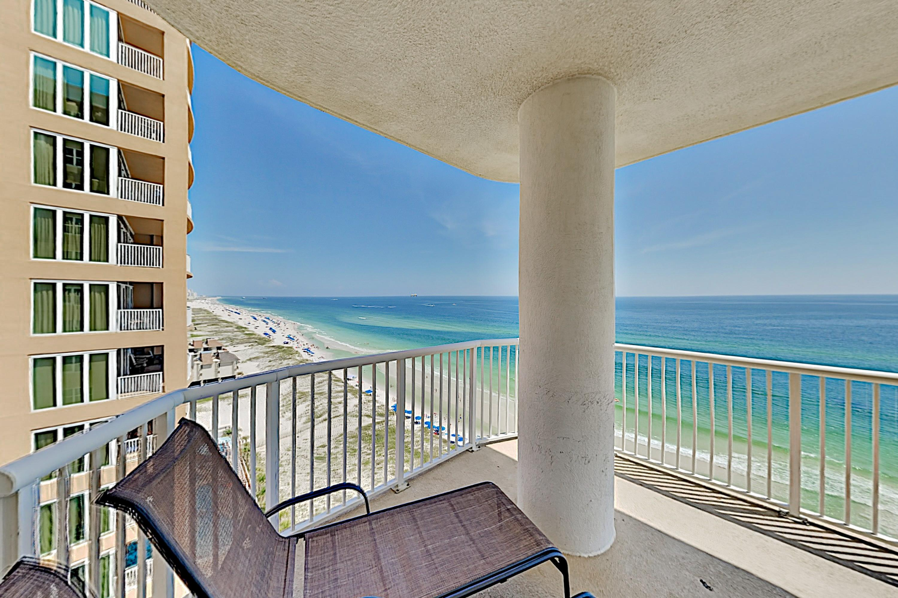 Immaculate Beachfront Condo with Gulf View Balcony & Shared Pool