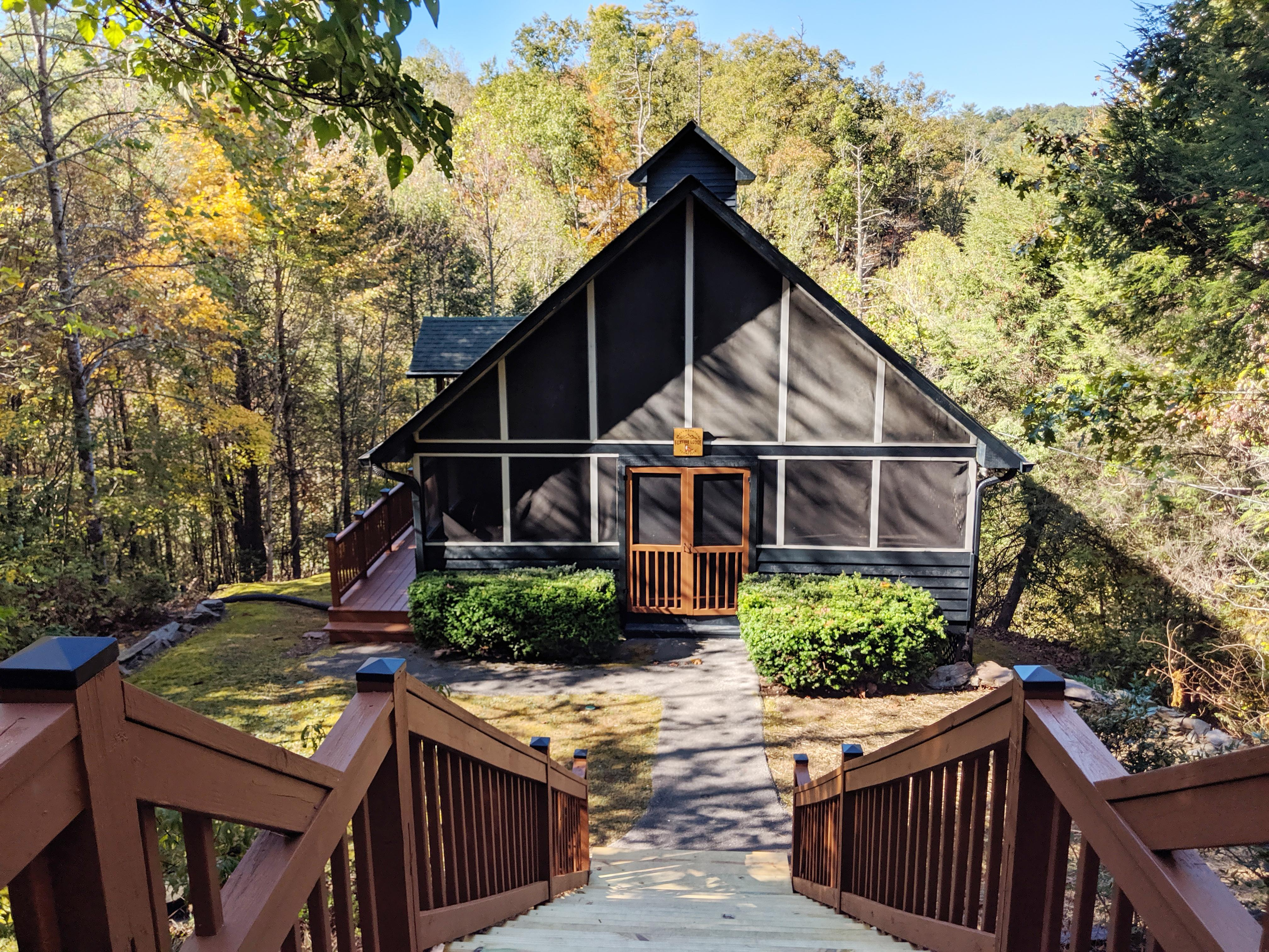 Welcome to Sevierville! Your rental is professionally managed by Turnkey Vacation Rentals.