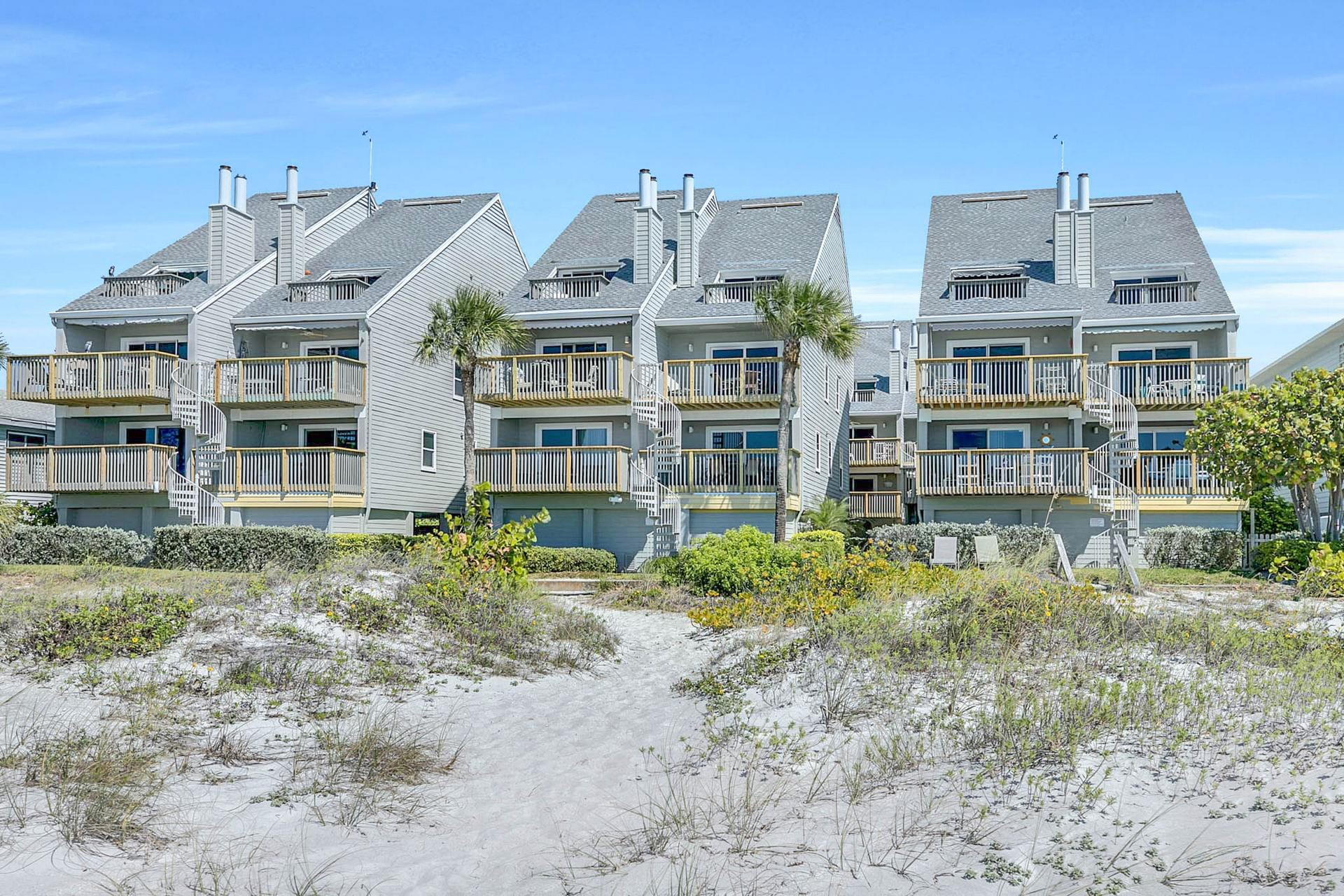 You'll love being within steps of the beach!