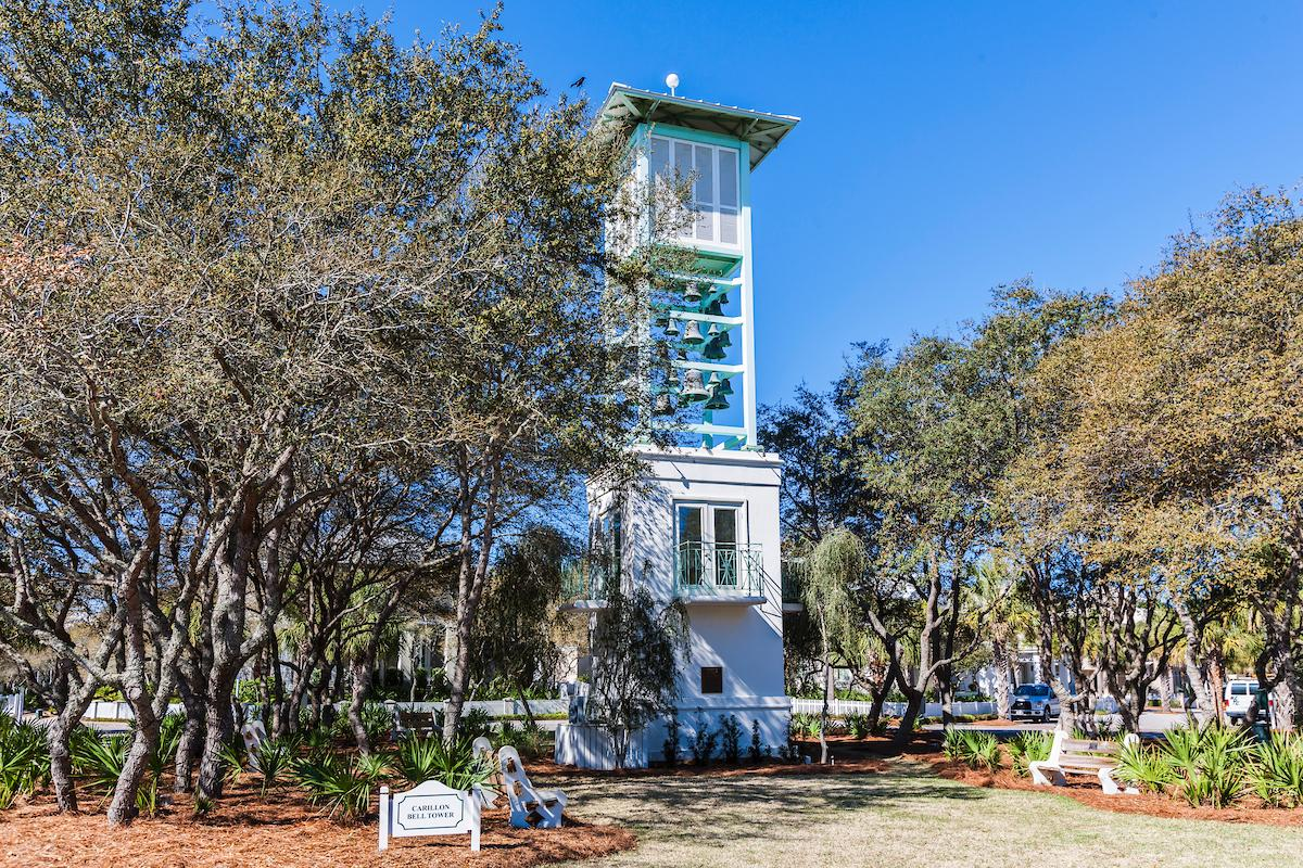 Visit the namesake of Carillon, the Carillon Bell Tower which has actual carillon bells.