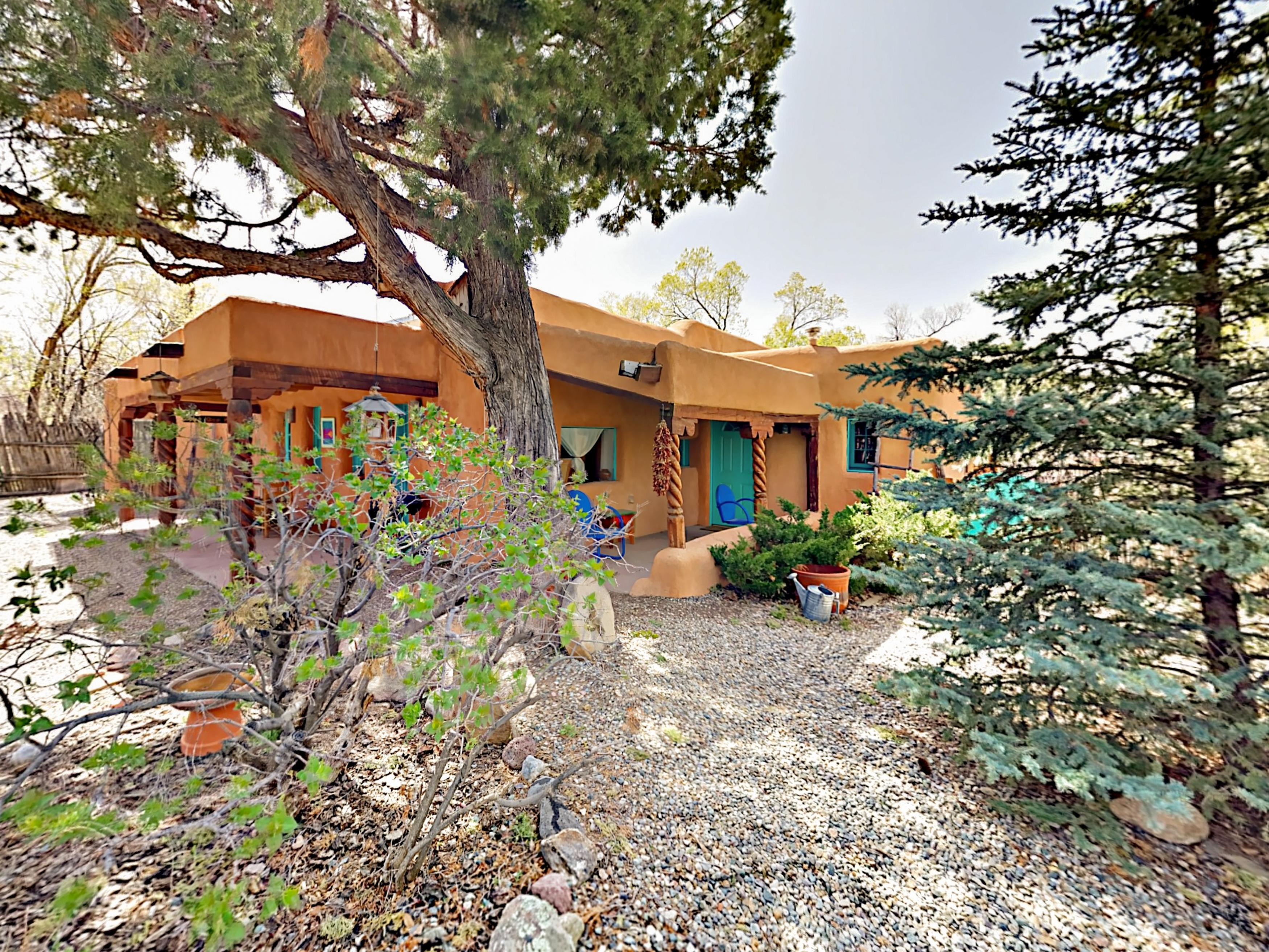 Lively Charmer with Dual Patio near Heart of Taos