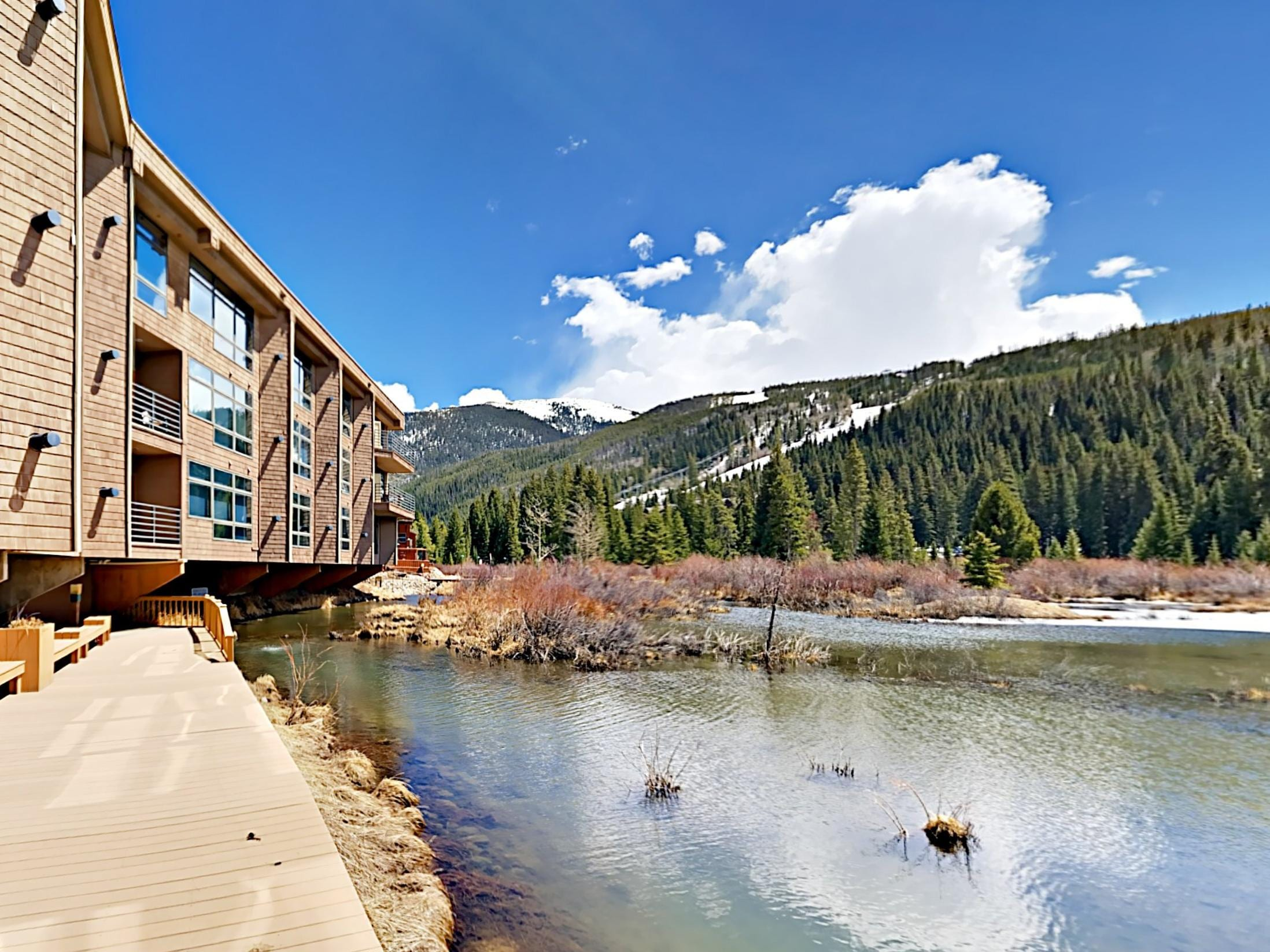 Welcome to Keystone! Your rental is professionally managed by TurnKey Vacation Rentals.