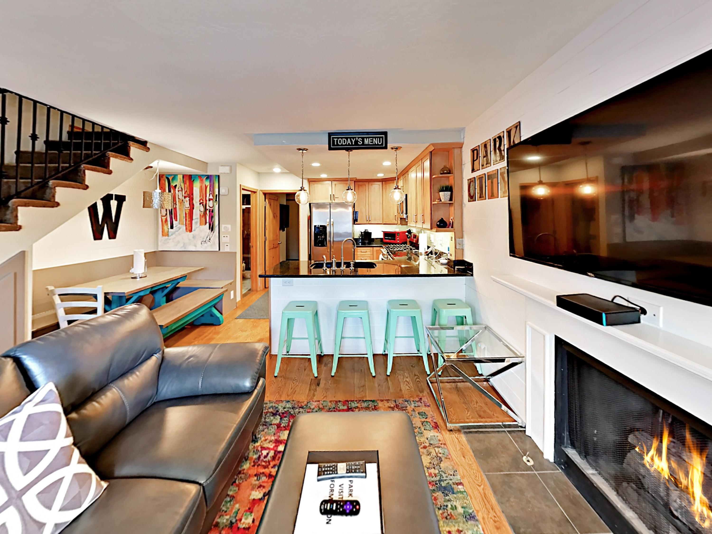 Welcome to Park City! Beautiful Park City rental with welcoming living area, professionally managed and maintained by TurnKey Vacation Rentals.
