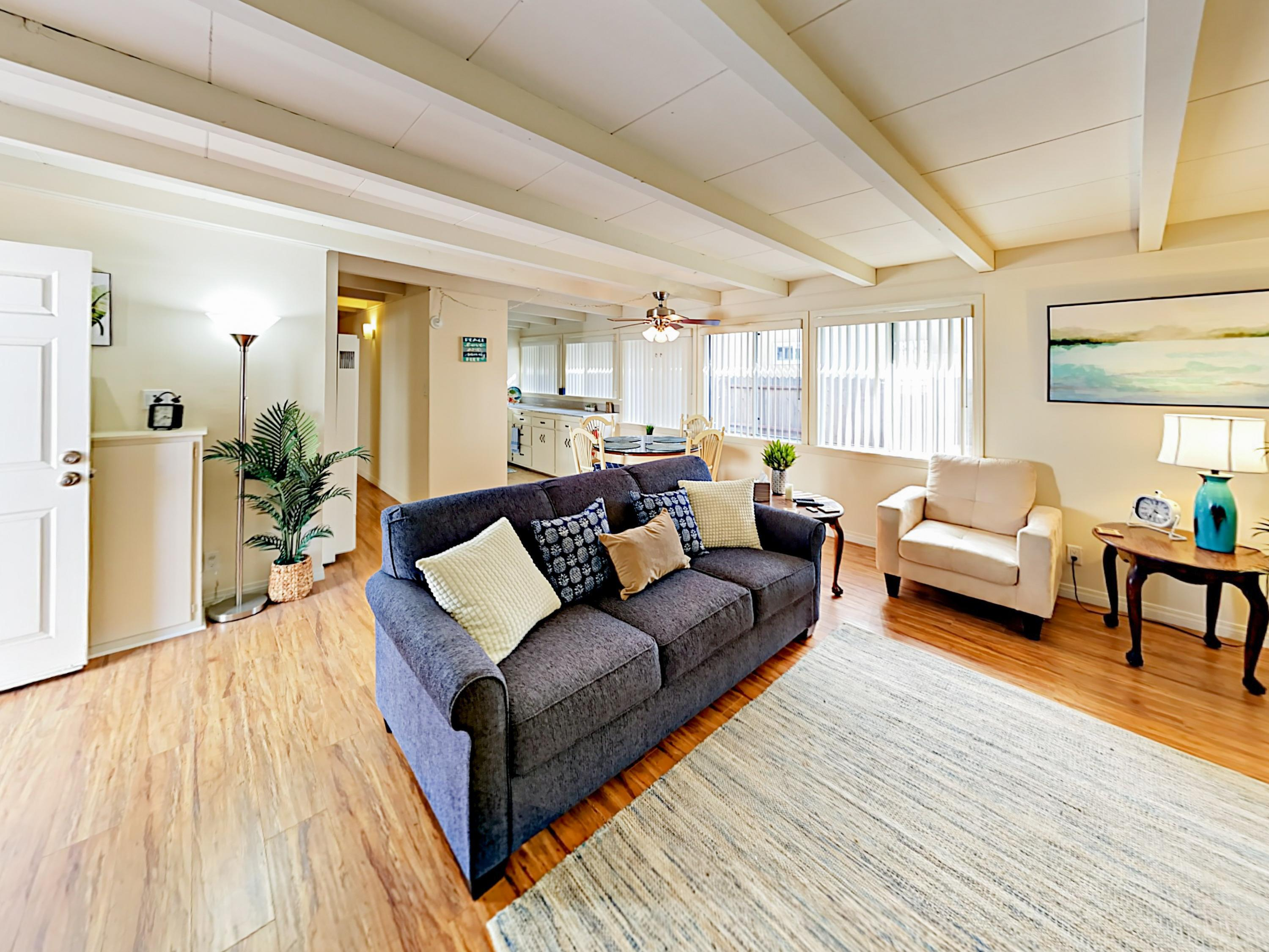 Welcome to Ventura! This lower-level duplex unit is professionally managed by TurnKey Vacation Rentals.