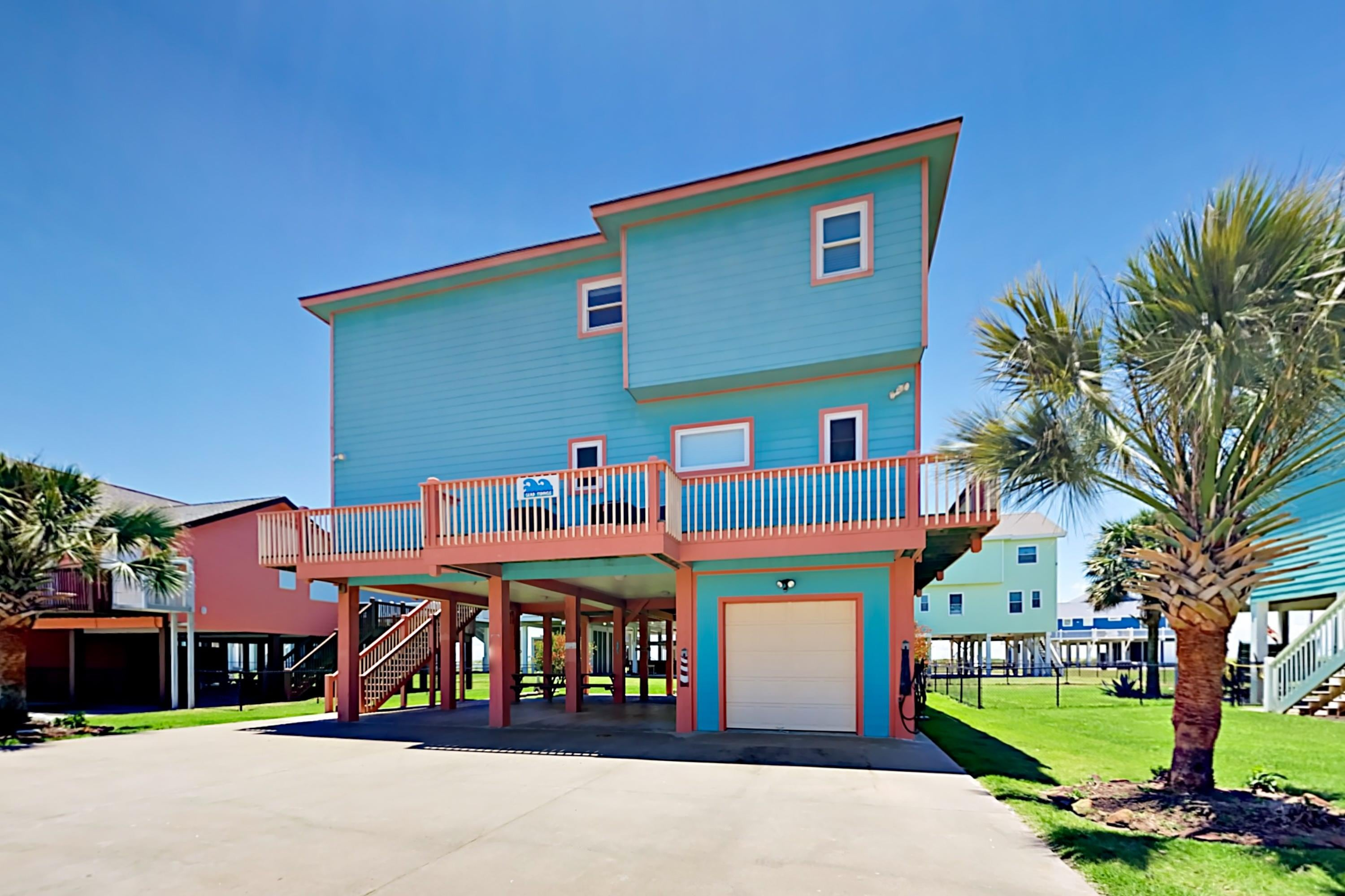 Welcome to Crystal Beach! Your rental is professionally managed by TurnKey Vacation Rentals.