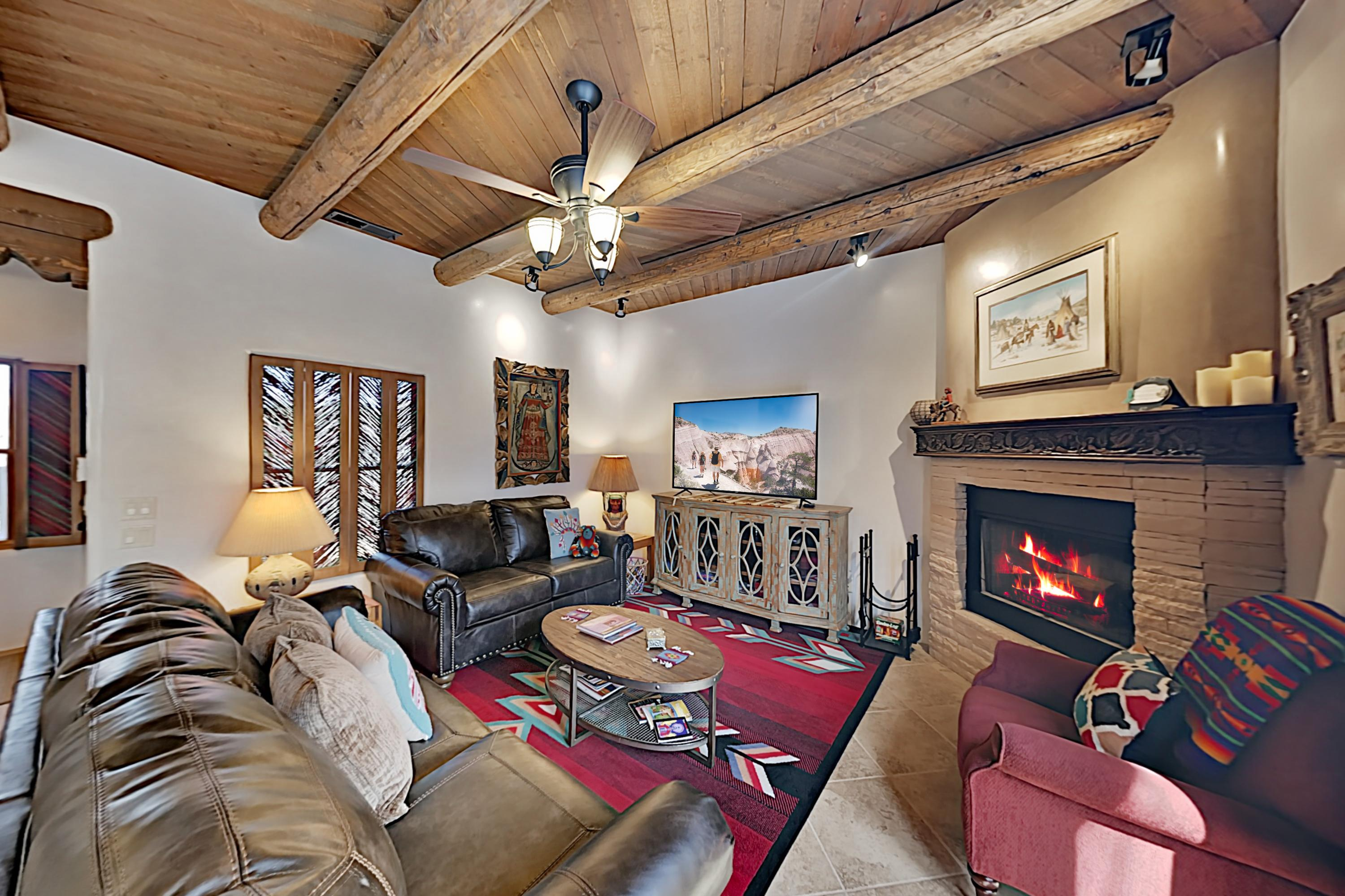 Welcome to Santa Fe! Enjoy comfortable Santa Fe living in this 2-level 2BR/2.5BA townhome duplex with high-end finishes.