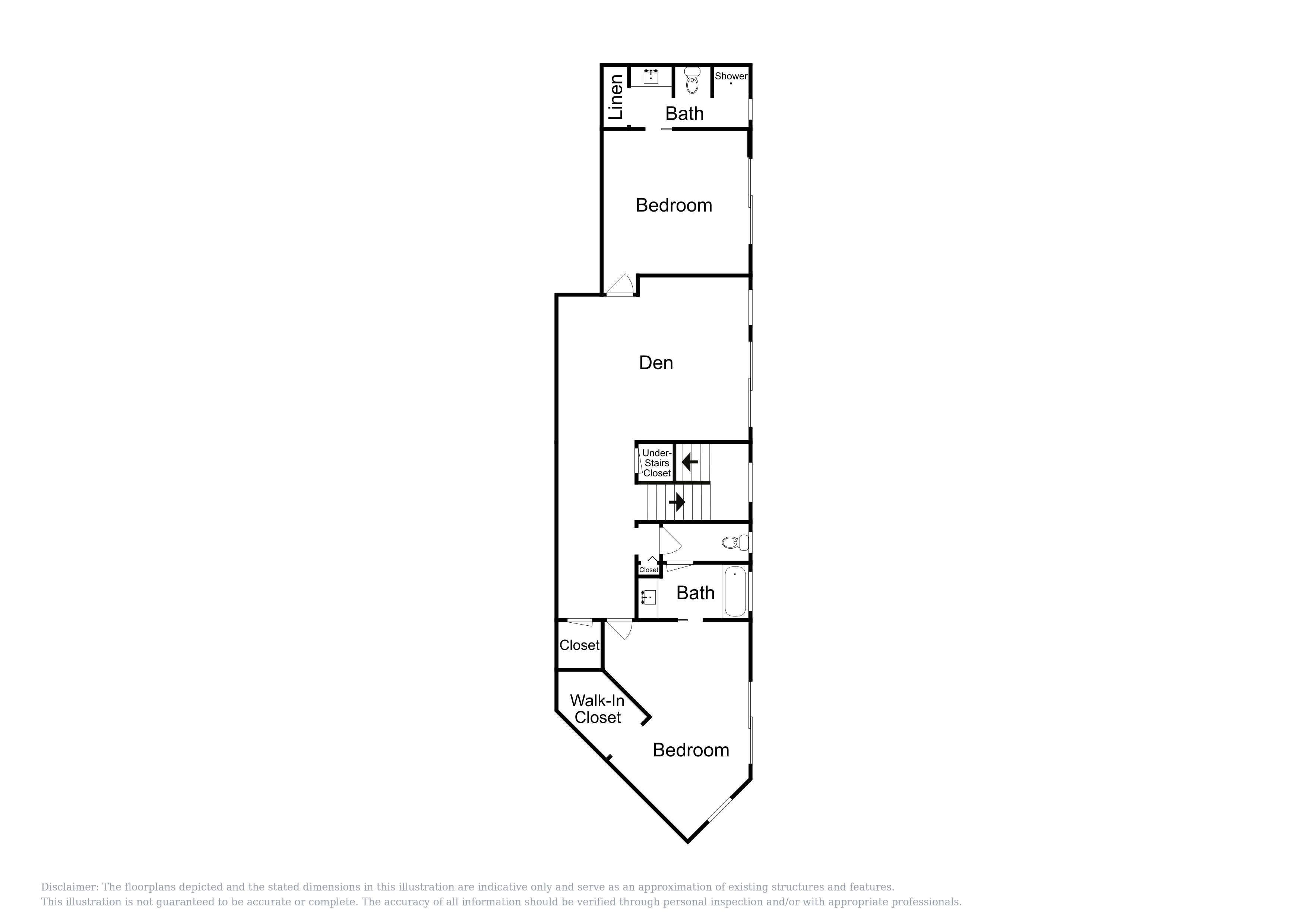 Ground Floor - This floor plan is an approximation and may not include the most recent information.