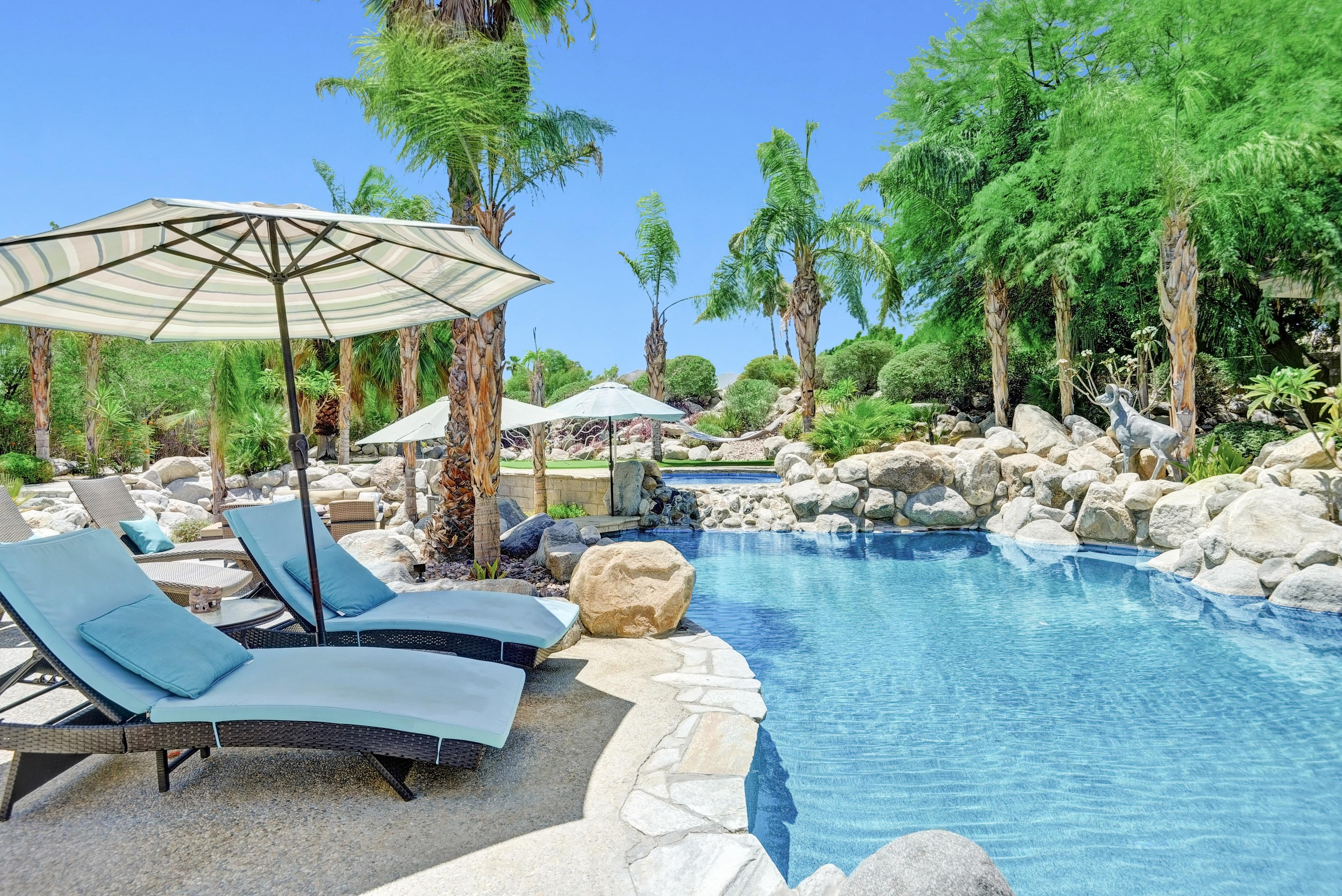 Property Image 1 - Palm Desert Villa Paradise w/Pool, Spas & Casitas
