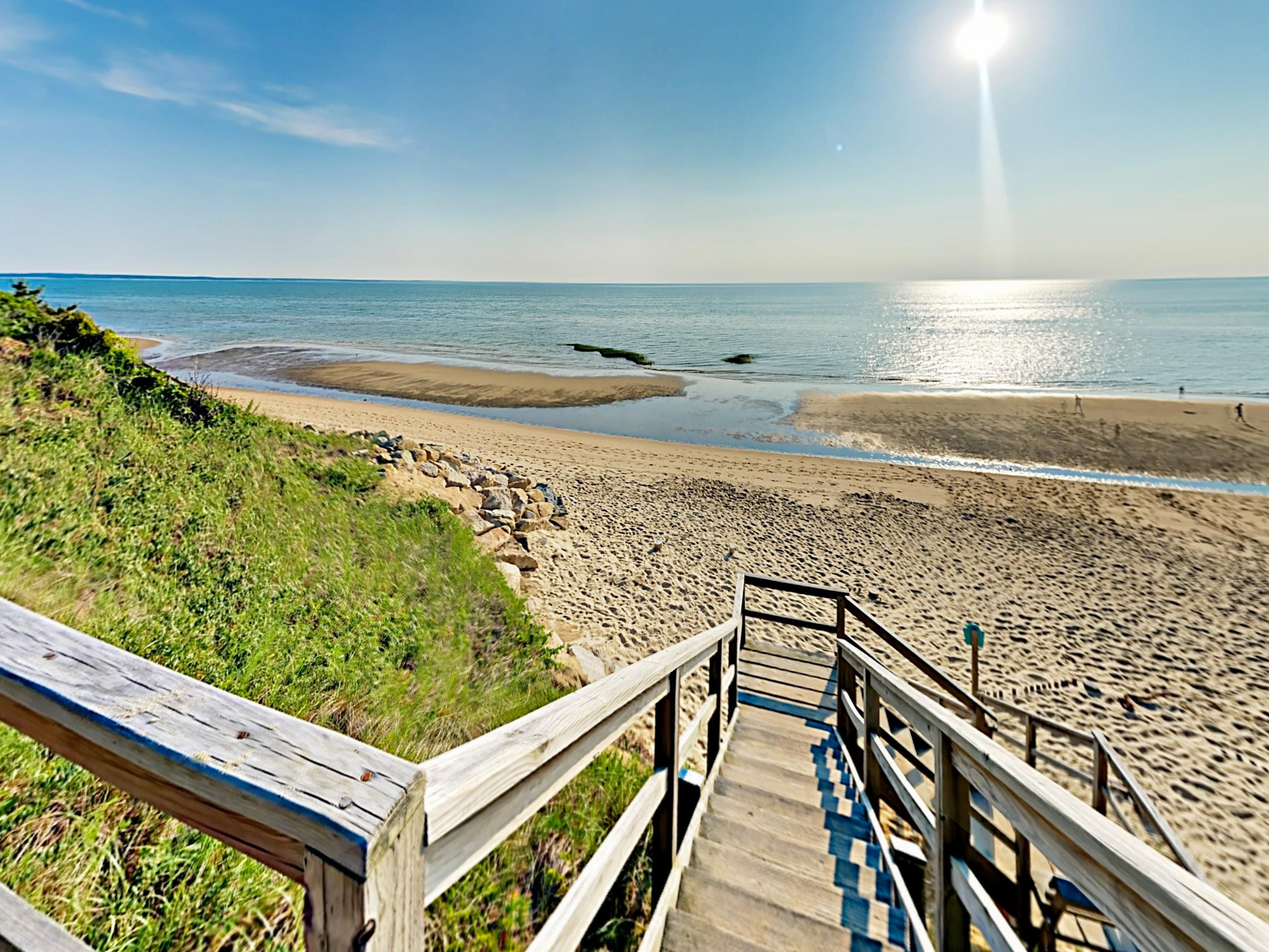 Welcome to Eastham! Your seaside rental is professionally managed by TurnKey Vacation Rentals.