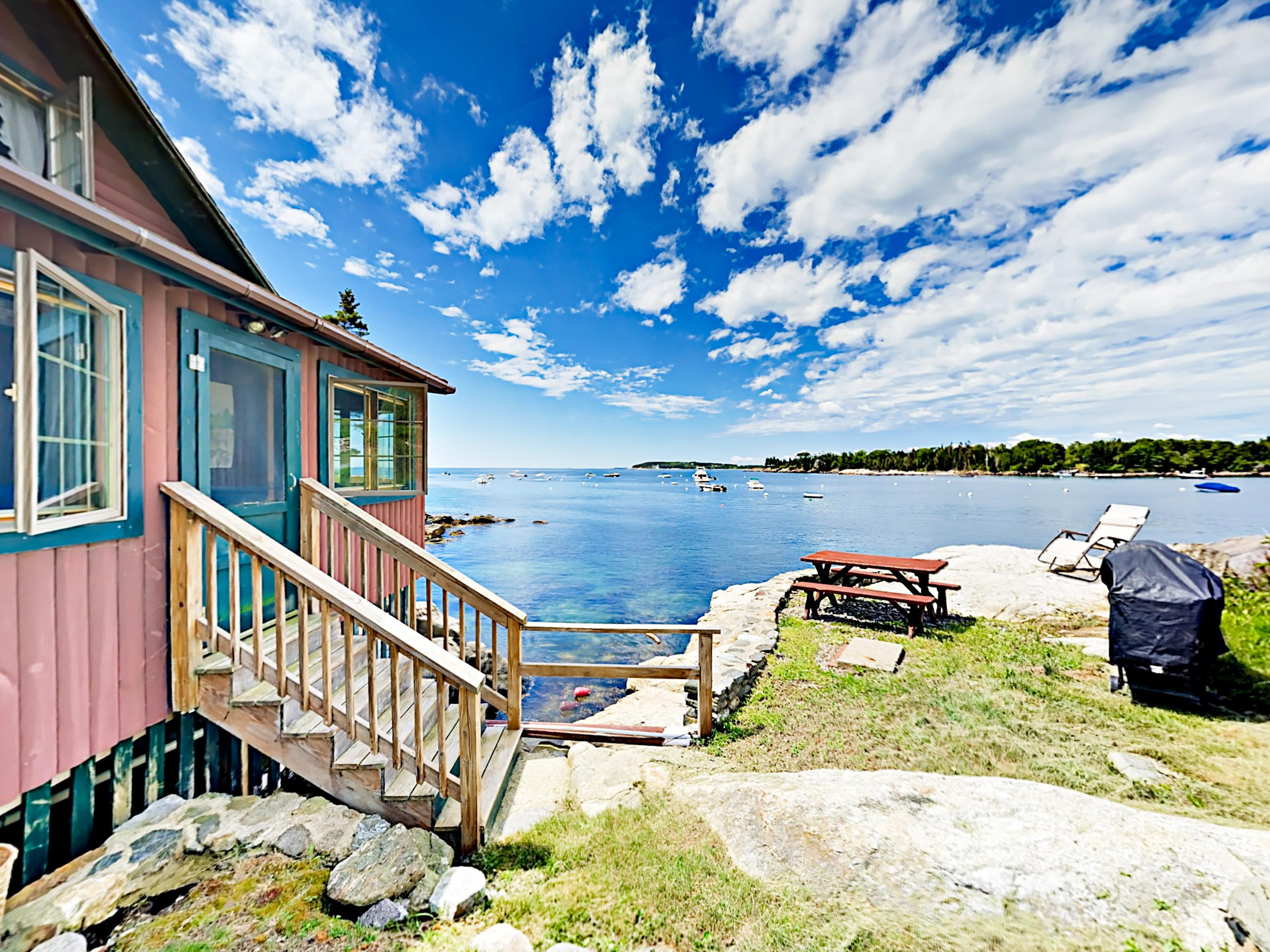 Welcome to East Boothbay! Your seaside log cabin is professionally managed by TurnKey Vacation Rentals.
