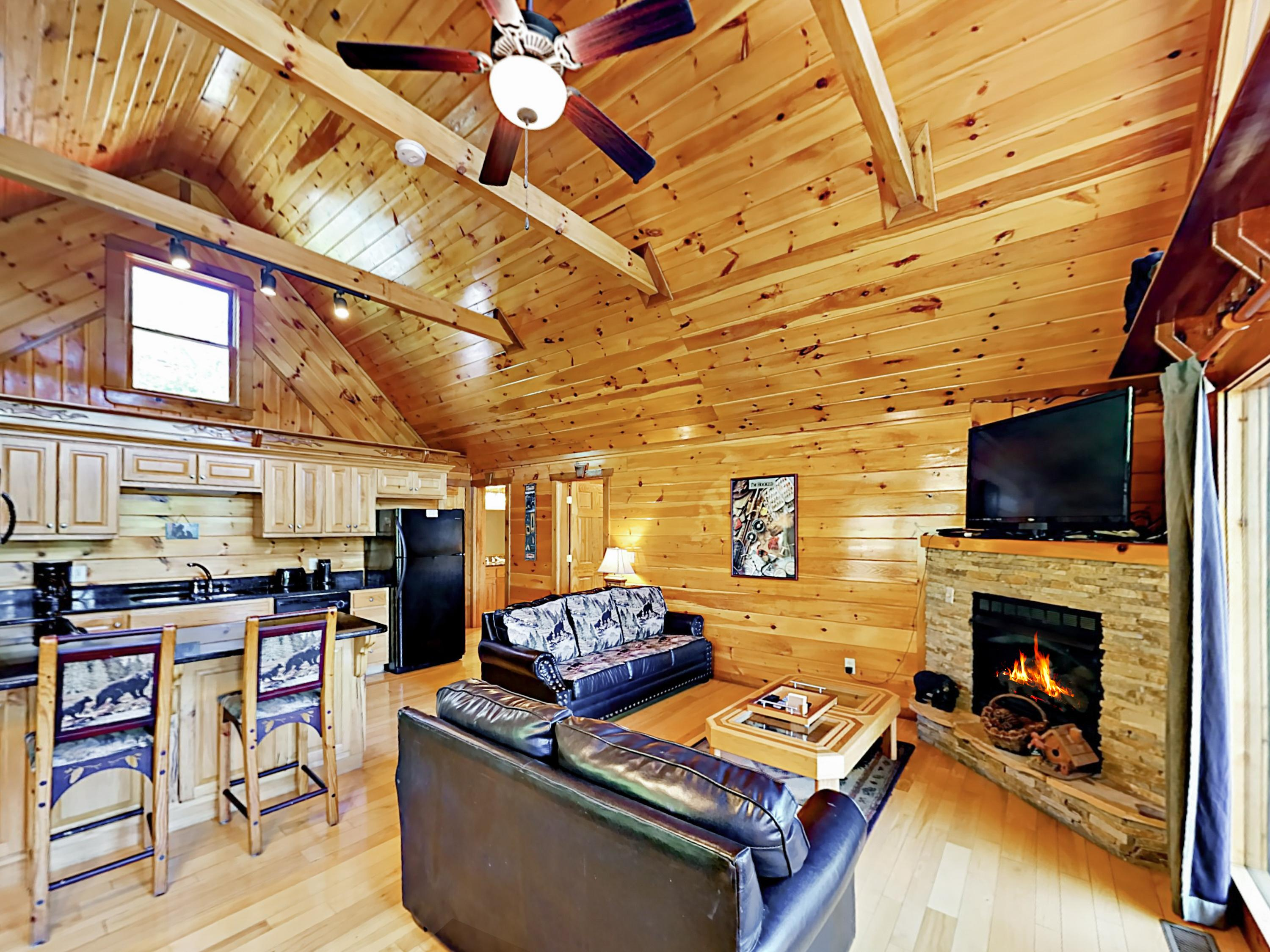 "Welcome to Gatlinburg! This cabin, known as ""Private Indulgences,"" is professionally managed by TurnKey Vacation Rentals."
