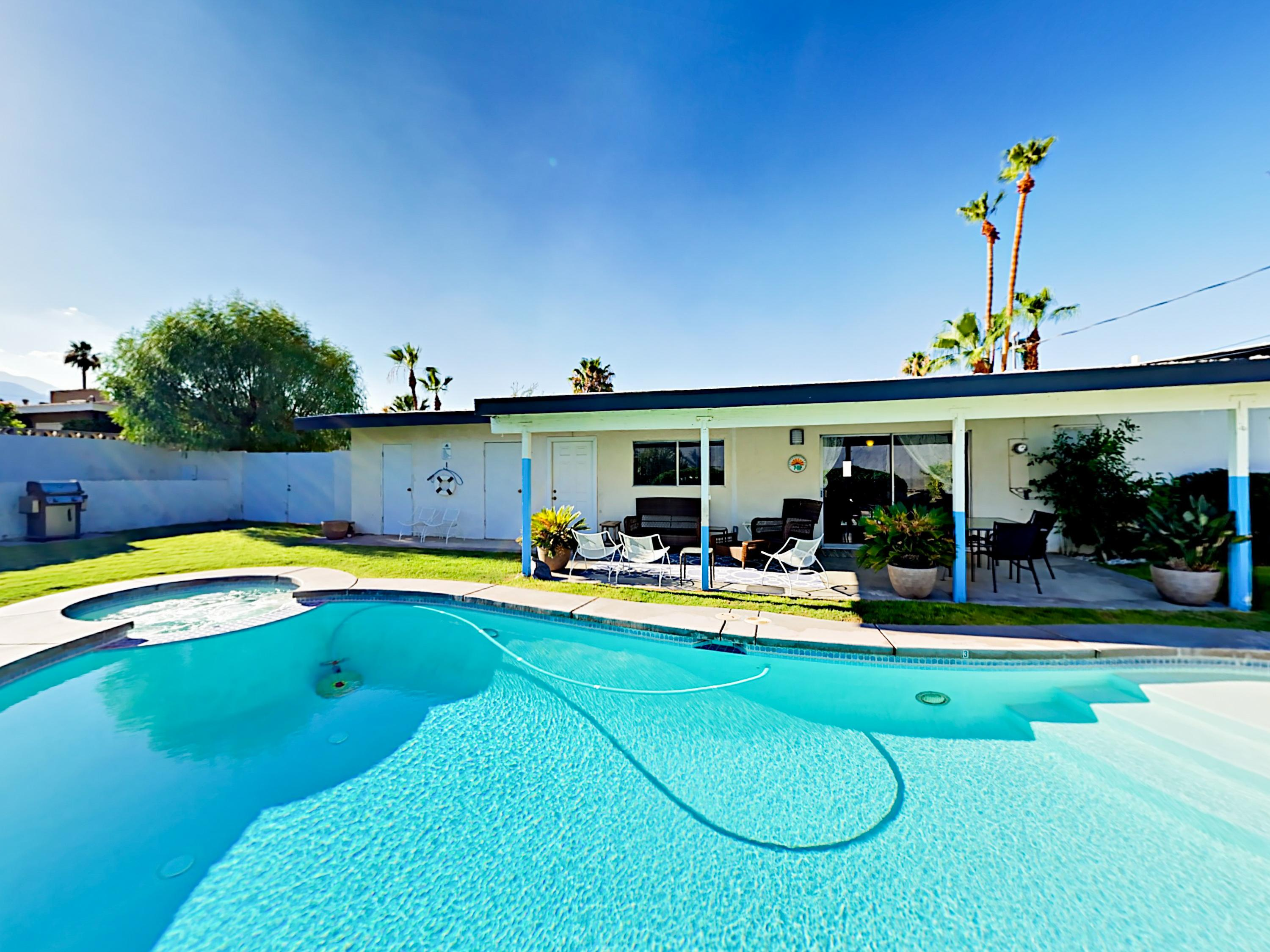 Welcome to Cathedral City! Your home is professionally managed by TurnKey Vacation Rentals.