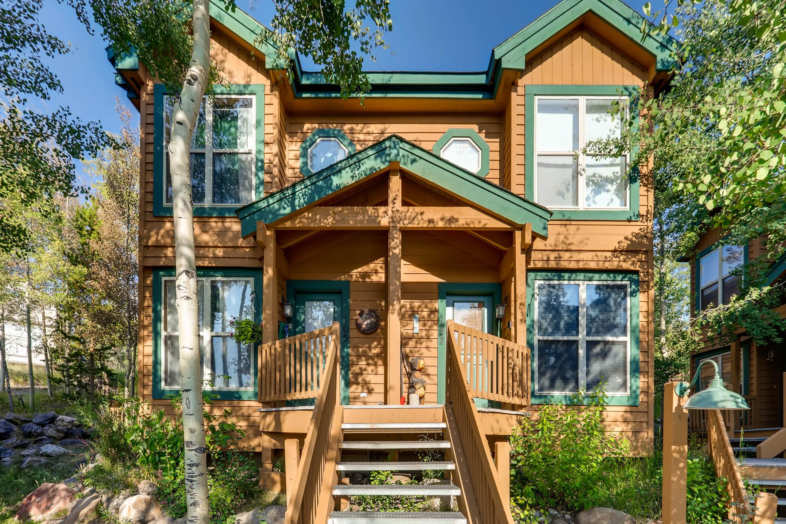 Welcome to Silverthorne! Your rental is professionally managed by TurnKey Vacation Rentals.