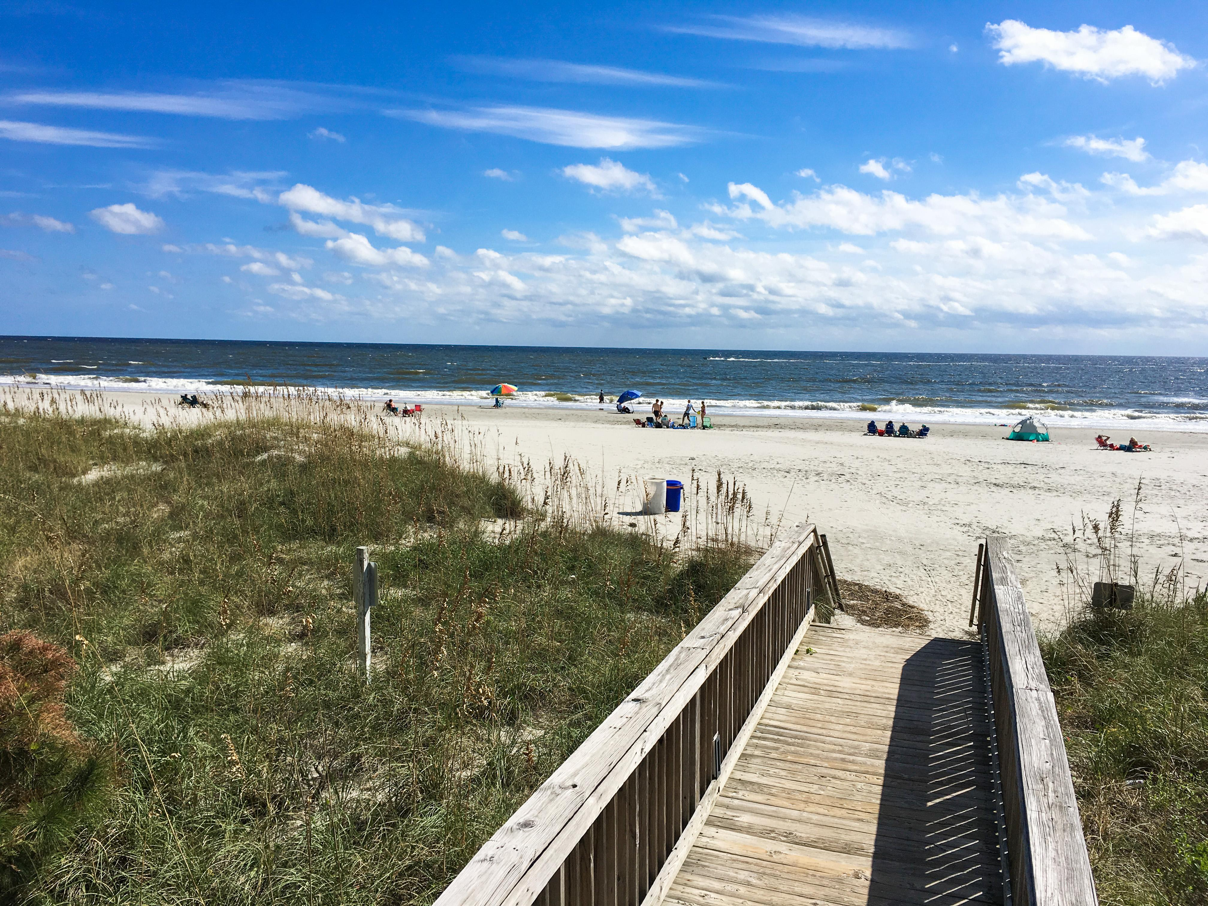 This central Myrtle Beach location is a quick 3-minute walk to the shore.