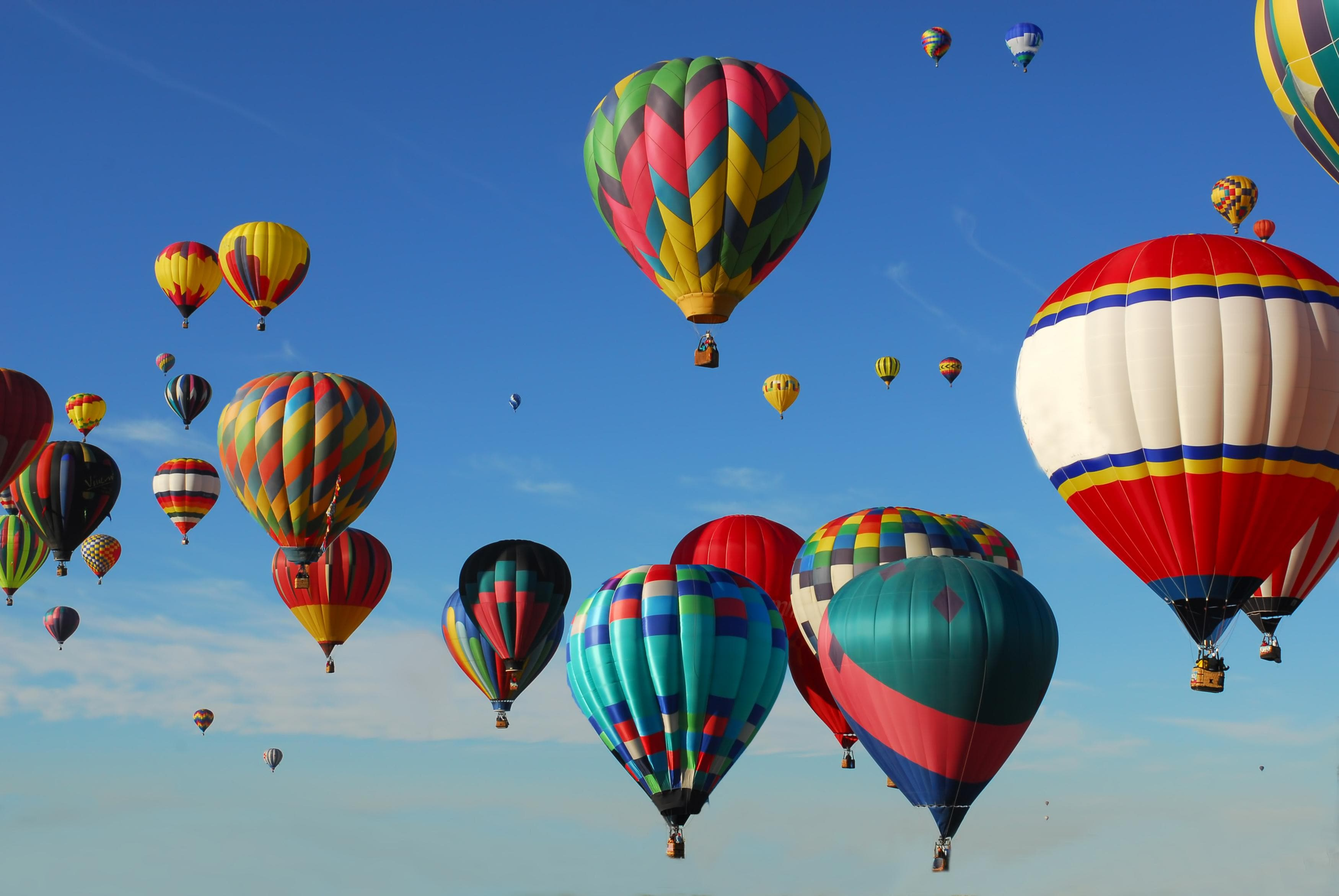 Fly the friendly Santa Fe skies on a hot air balloon tour.