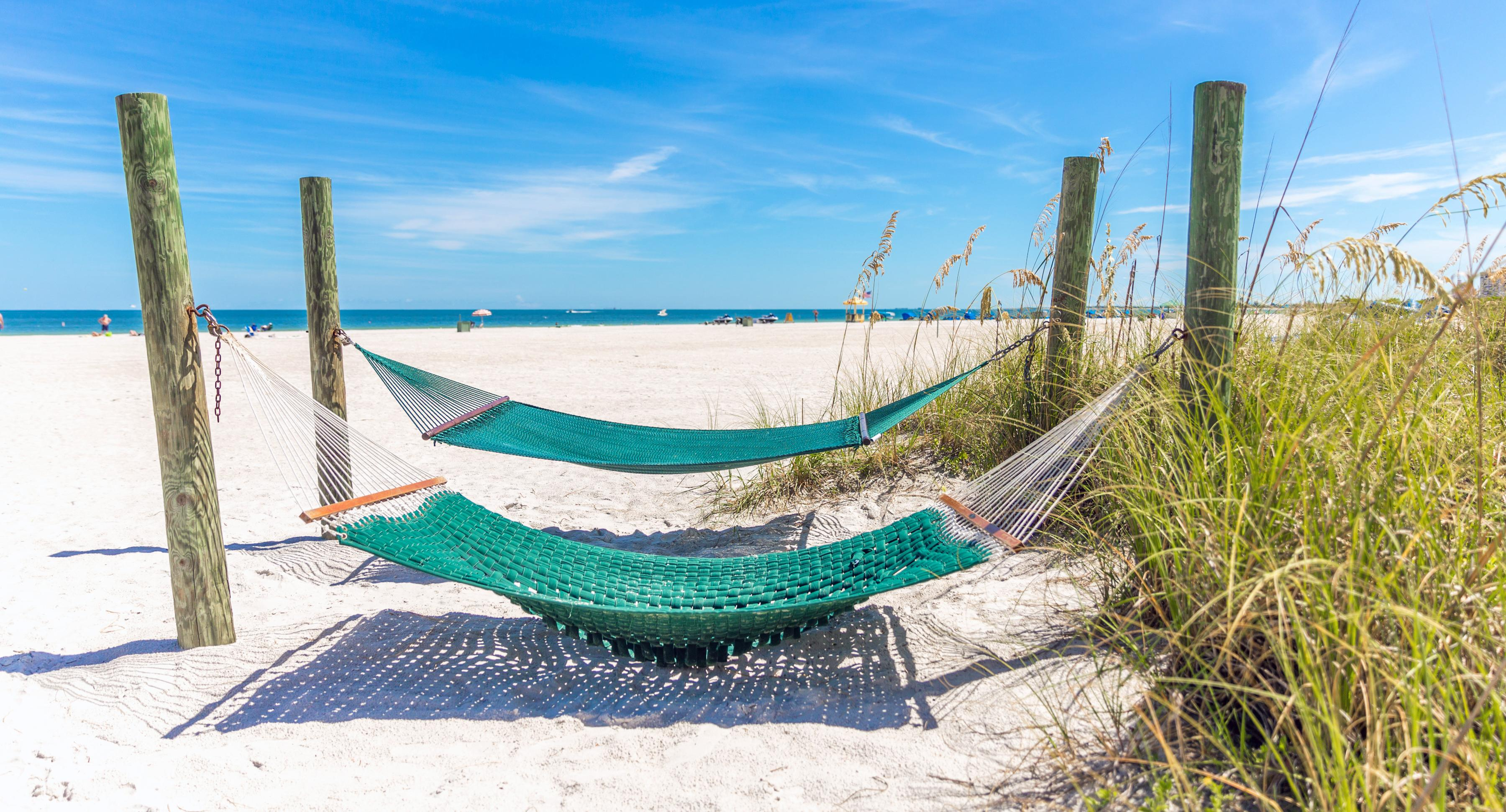 A nap on the beach awaits you in St. Pete.