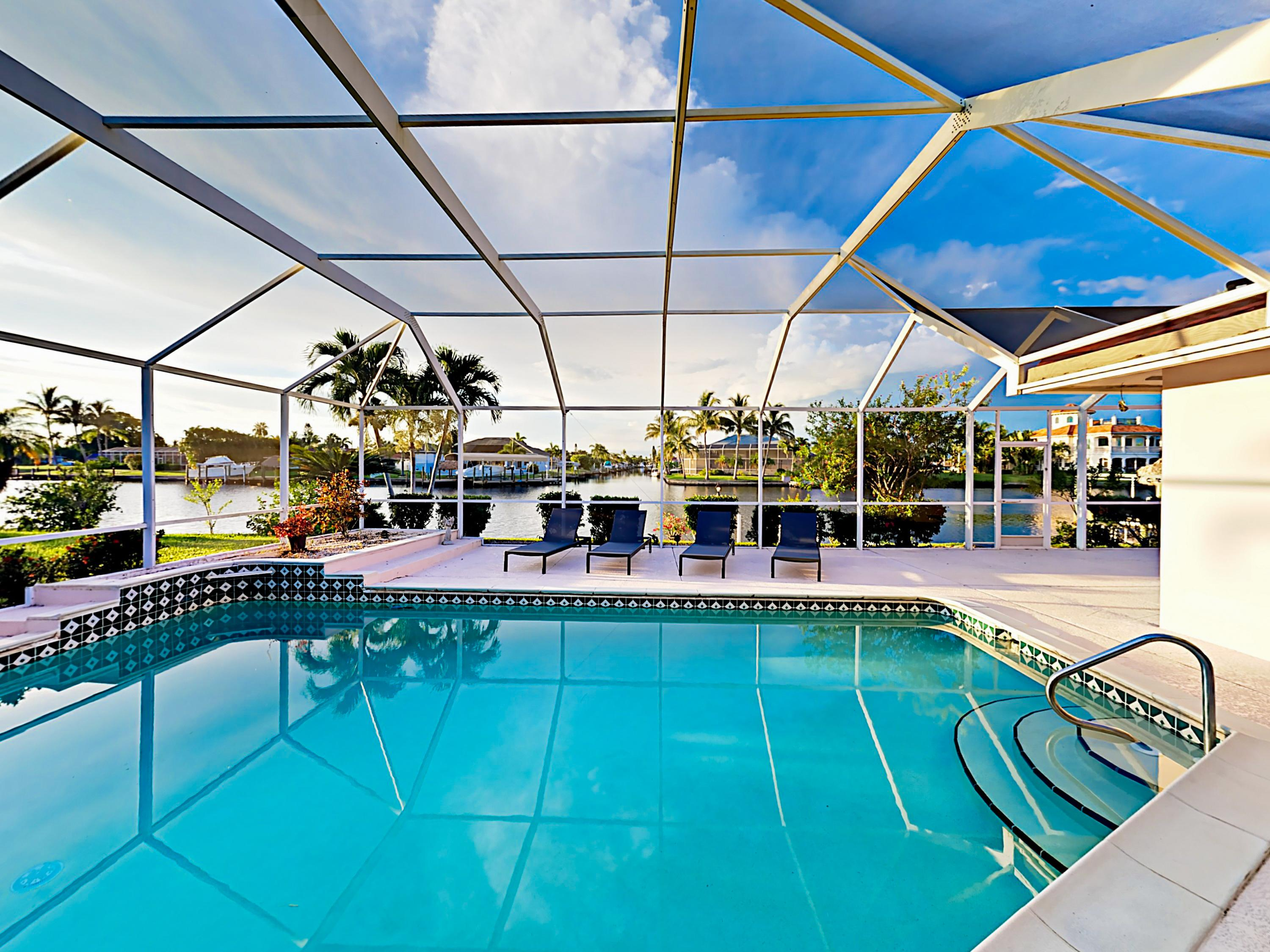 Welcome to Cape Coral! This luxe home is professionally managed by TurnKey Vacation Rentals.