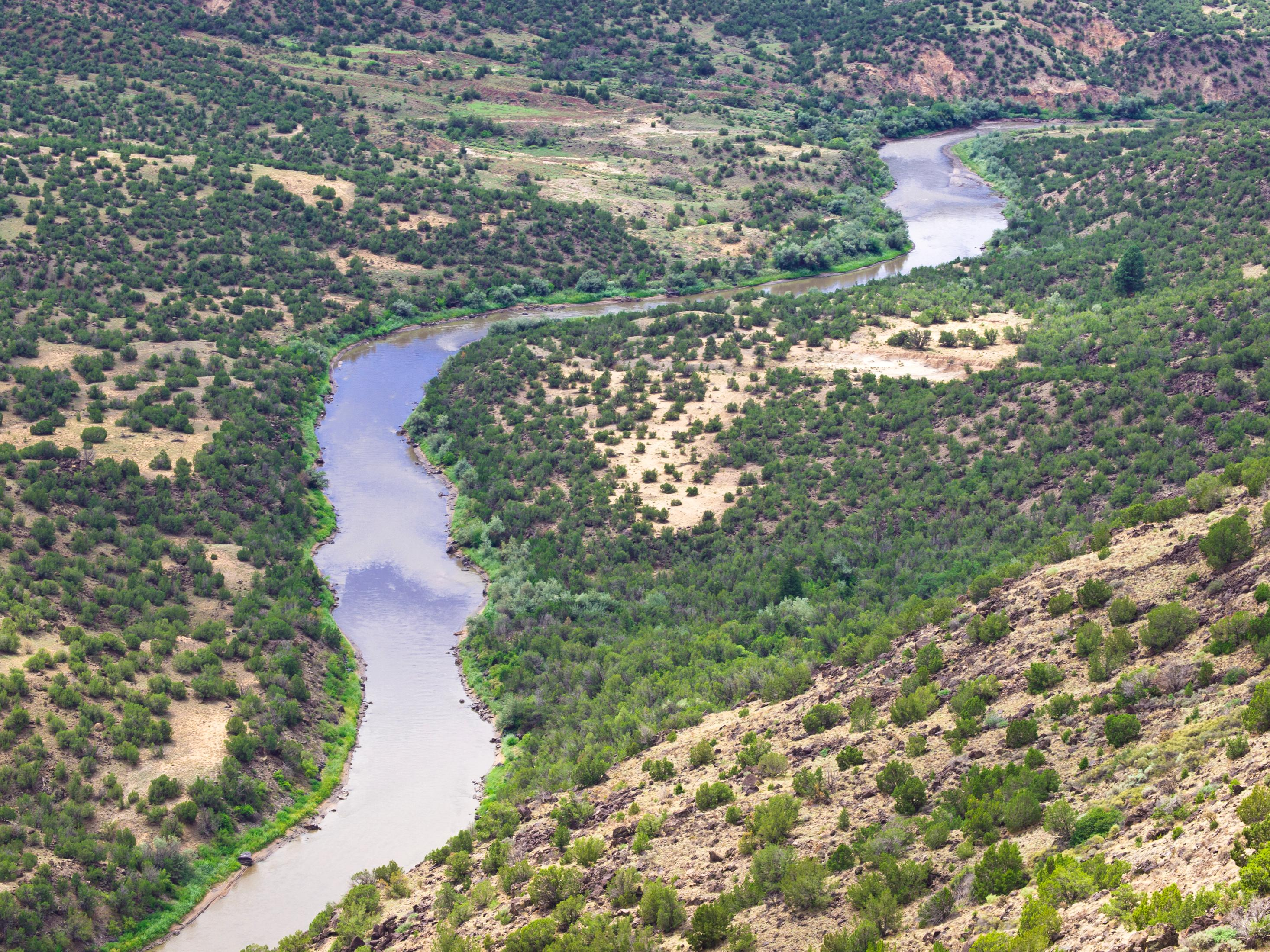 Venture outdoors to the Orilla Verde Recreation Area along the Rio Grande.