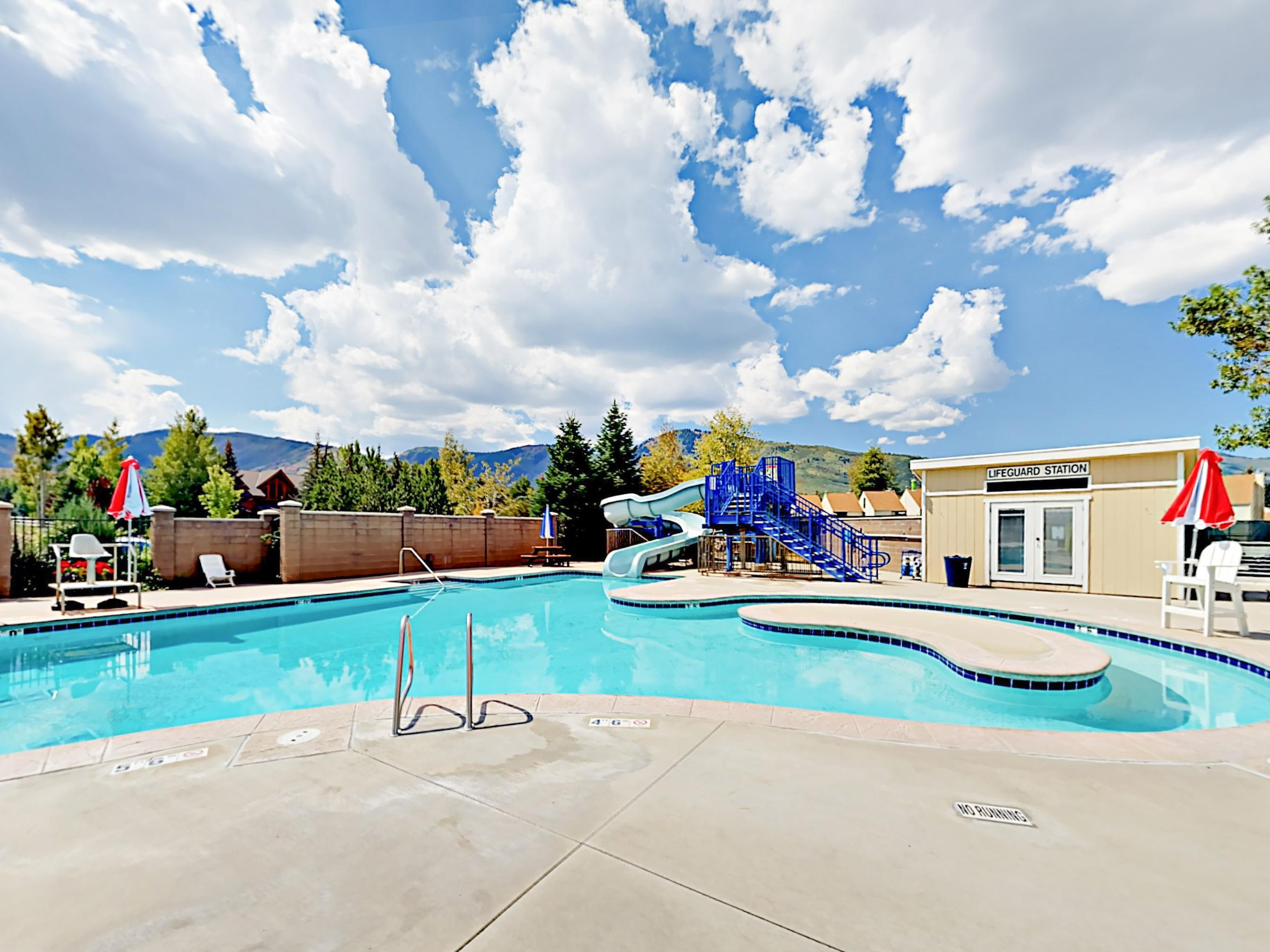 Less than a half-mile away, you'll have quick access to all the amenities at the nearby rec center.