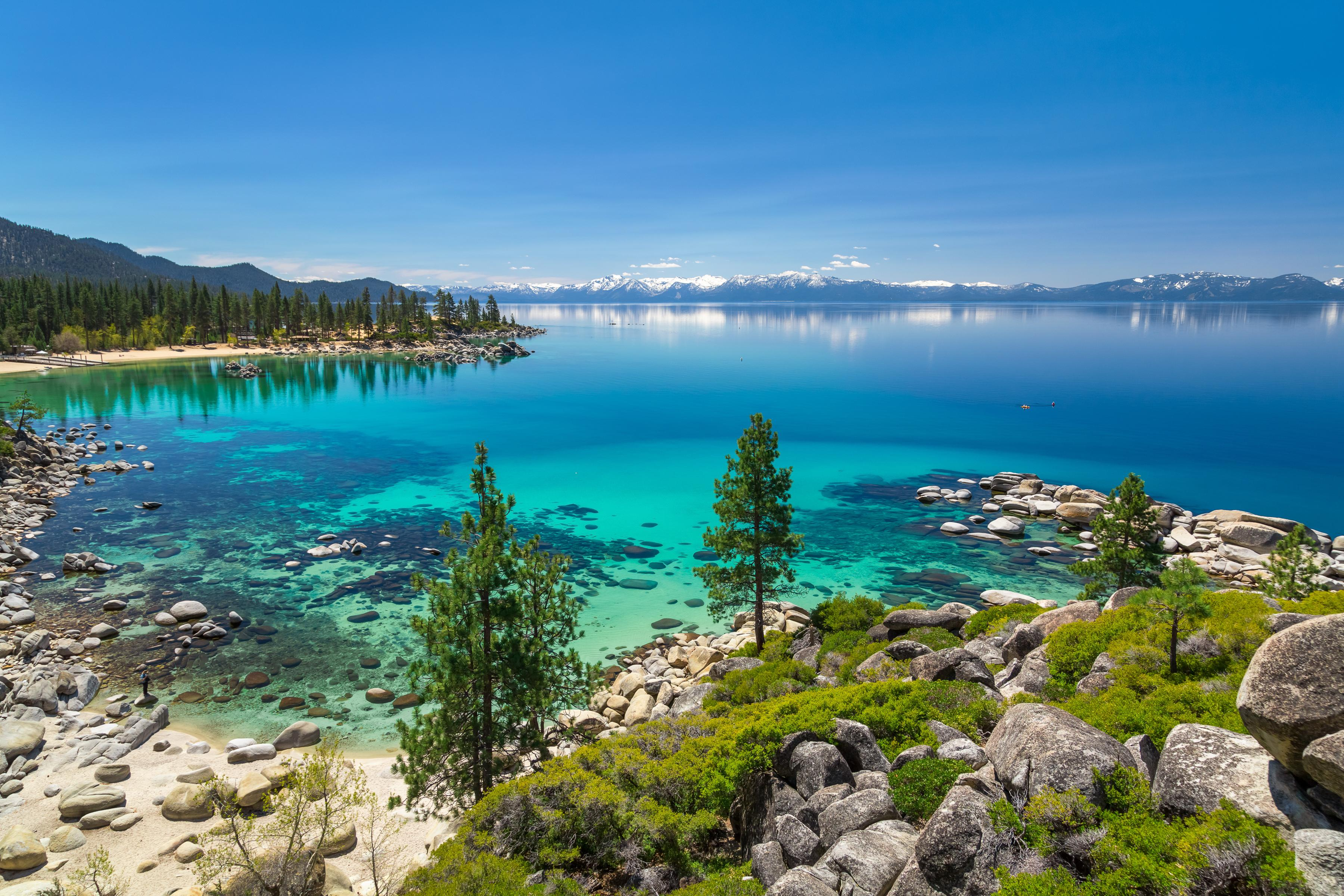 Take a drive around the lake to take in vistas of the Tahoe's stunning shoreline.