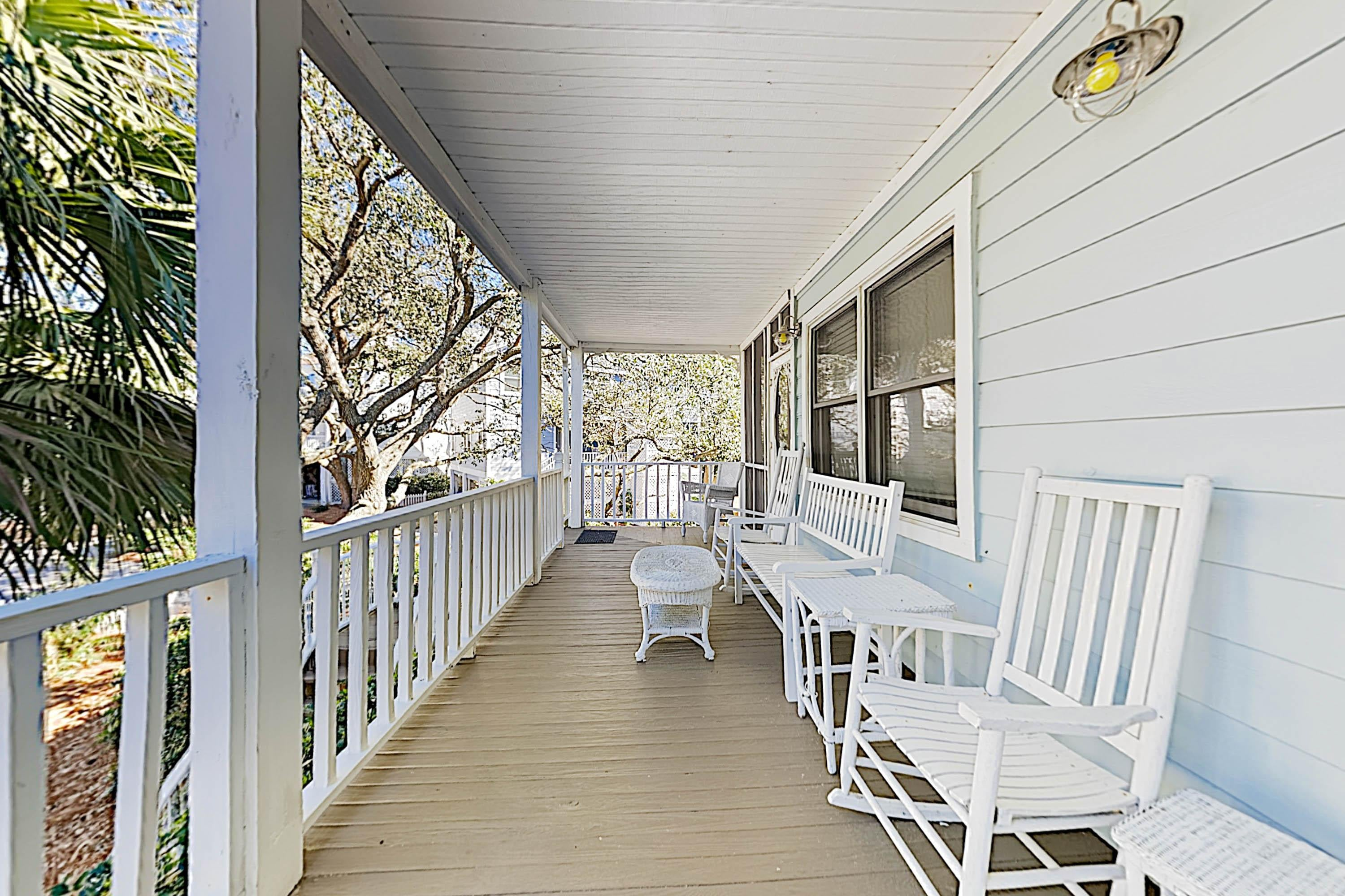 Welcome to Charleston! This stilted home is professionally managed by TurnKey Vacation Rentals.