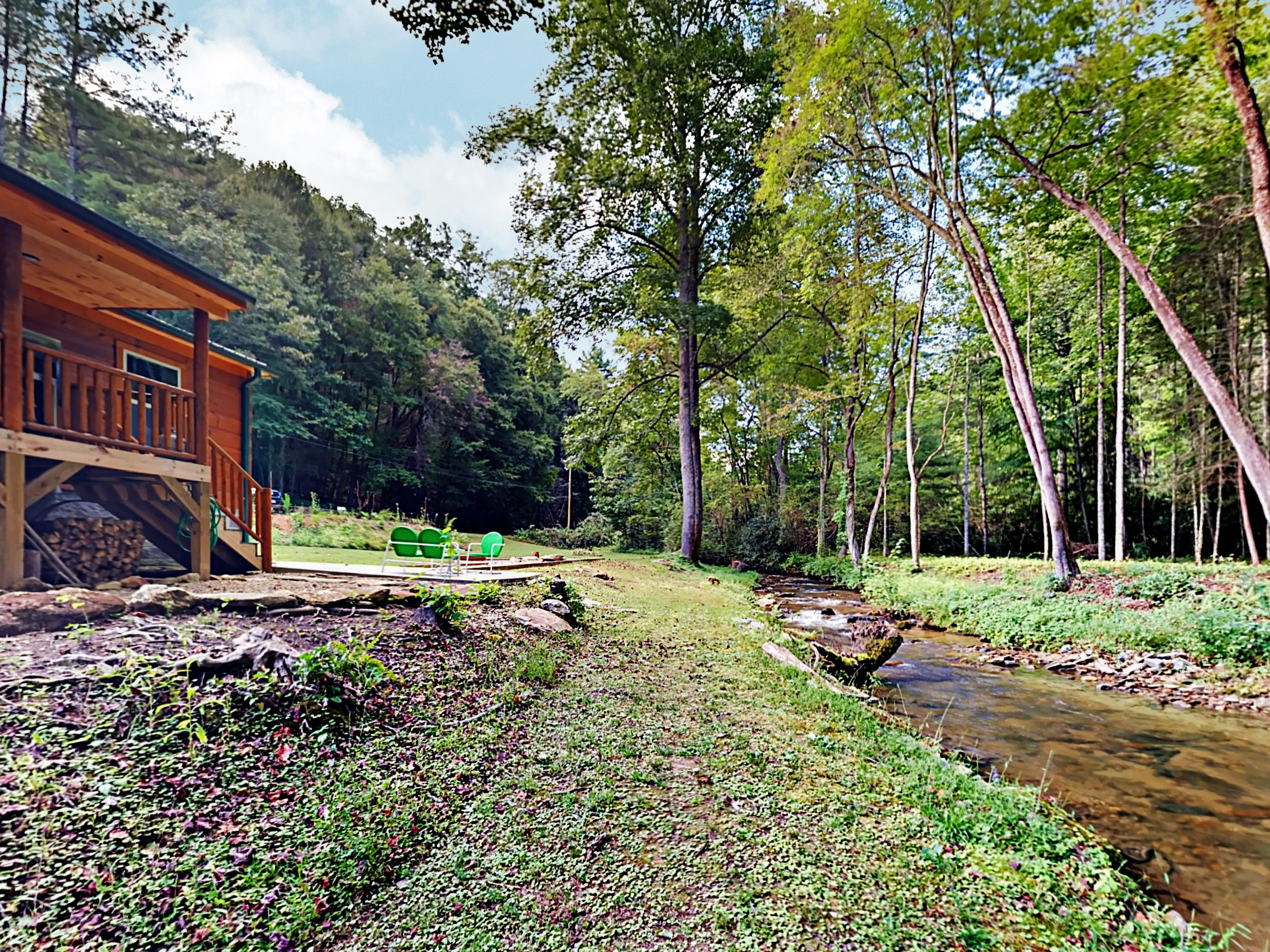 Welcome to Creekside! This Pisgah Forest cabin is professionally managed by TurnKey Vacation Rentals.