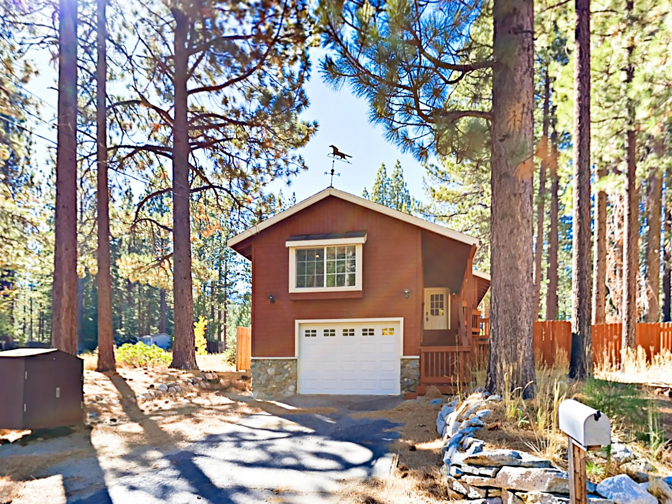 Welcome to South Lake Tahoe! This comfortable home is professionally managed by TurnKey Vacation Rentals.