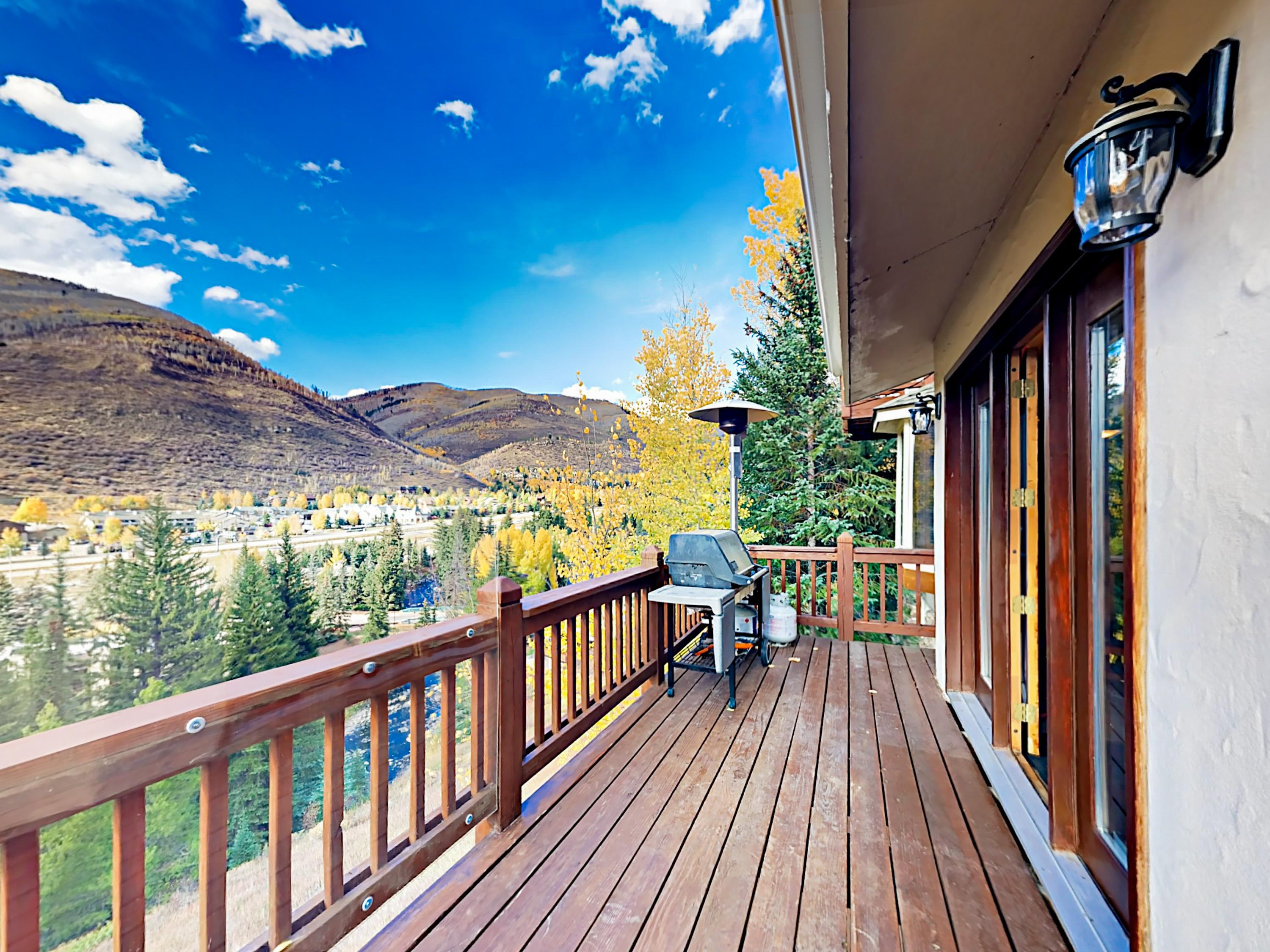 Welcome to Vail! Your rental is professionally managed by TurnKey Vacation Rentals. Located just 1 mile away, enjoy unparalleled access to Vail's ski spots from the Cascade Chair Lift.