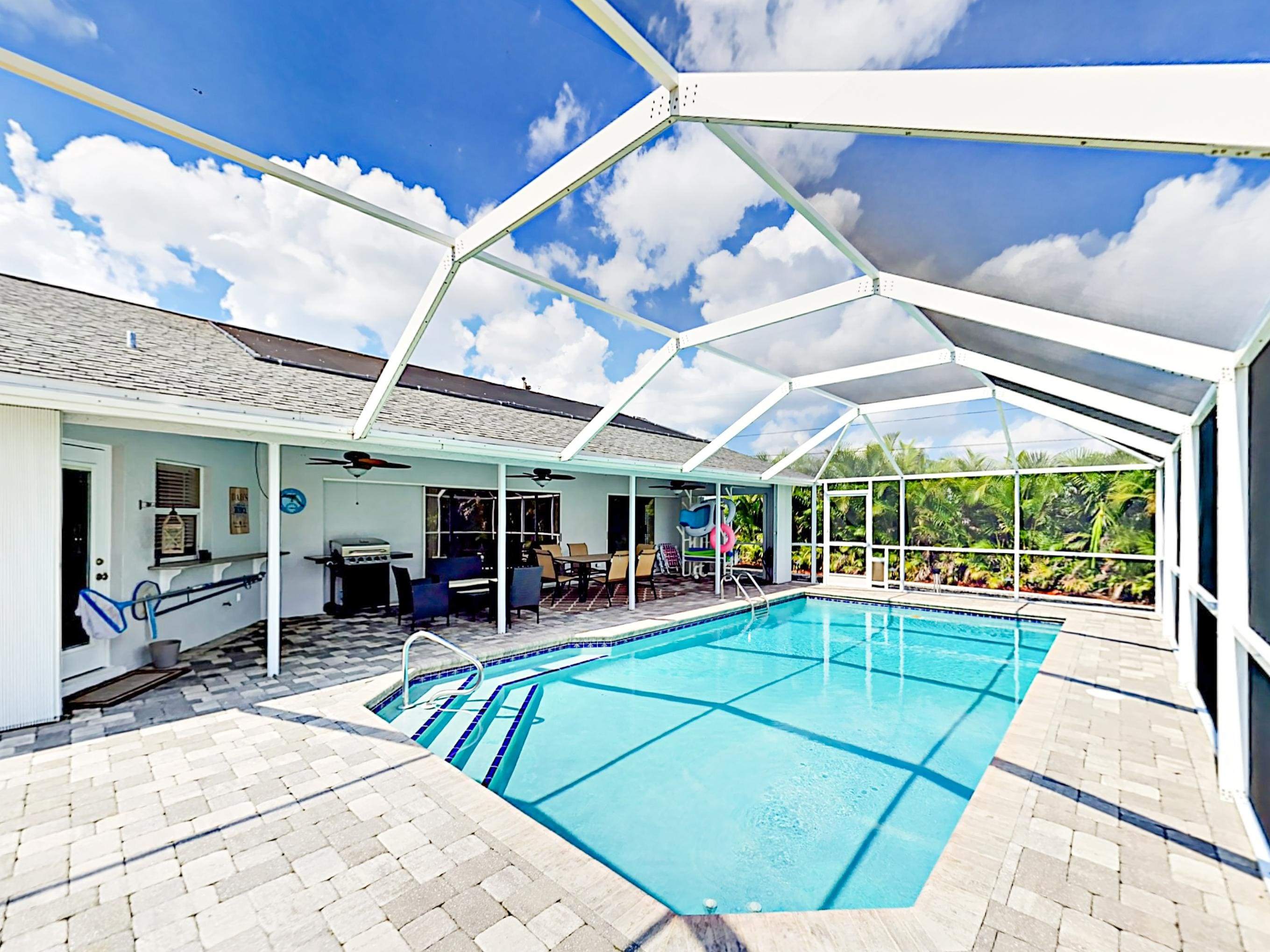 Welcome to Cape Coral! Your canal-front getaway is professionally managed by TurnKey Vacation Rentals.